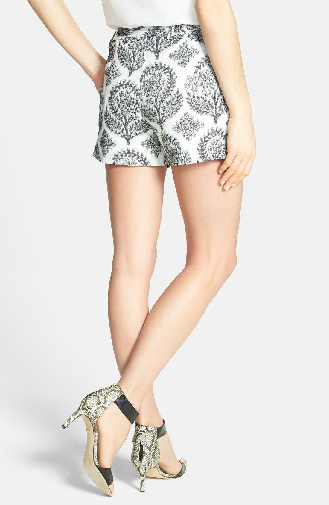 Alternate Image 2  - Diane von Furstenberg 'Naples' Floral Jacquard Shorts