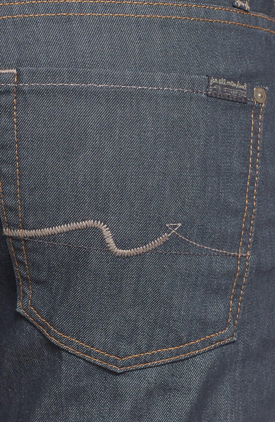 Alternate Image 4  - 7 For All Mankind® 'Slimmy' Slim Straight Leg Jeans (Summer Haze)