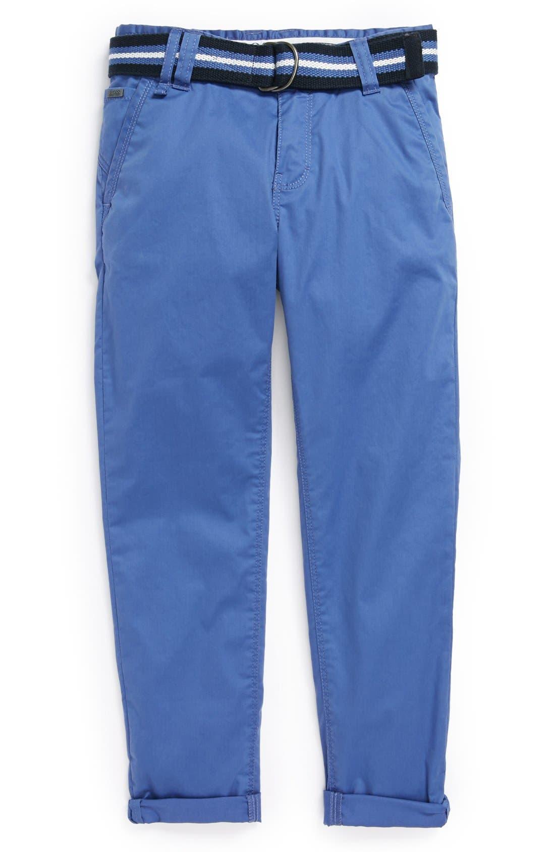 Main Image - BOSS Kidswear Twill Chino Pants (Little Boys & Big Boys)