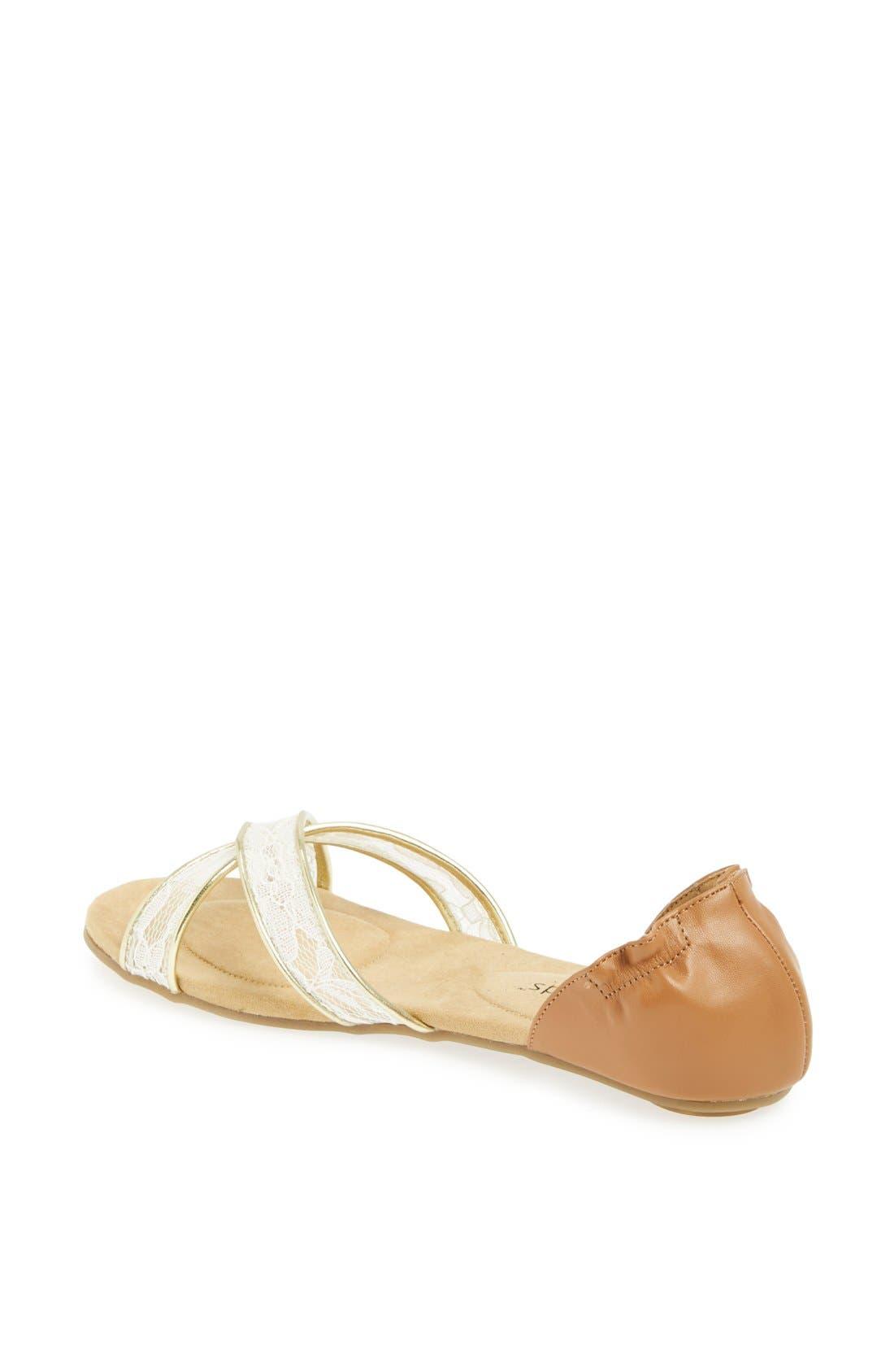 Alternate Image 2  - Footzyfolds 'Celina' Flat