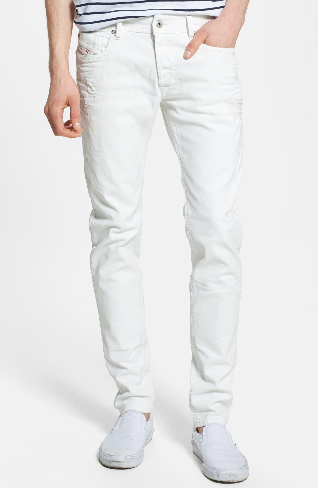 Alternate Image 1 Selected - DIESEL® 'Sleenker' Skinny Fit Jeans (828G)