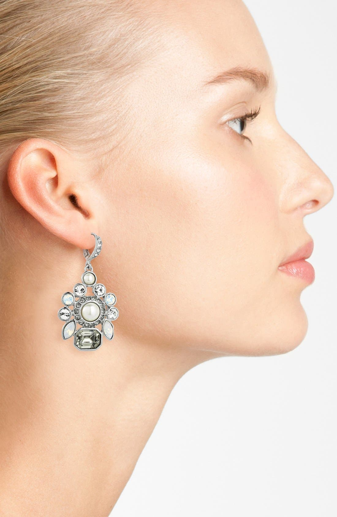 Alternate Image 2  - Givenchy Cluster Drop Earrings