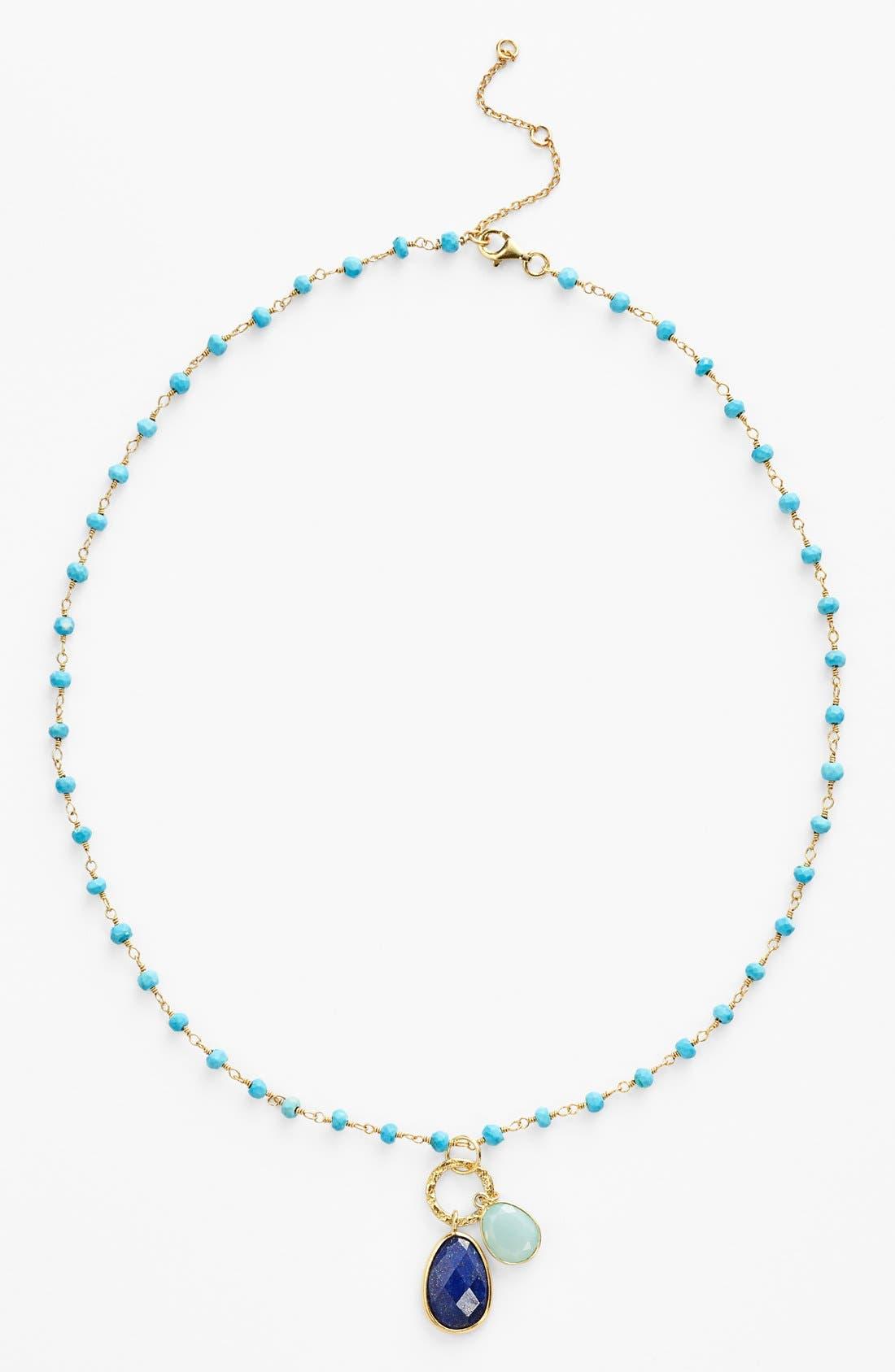 Alternate Image 2  - Argento Vivo 'Rondelle' Cluster Pendant Necklace