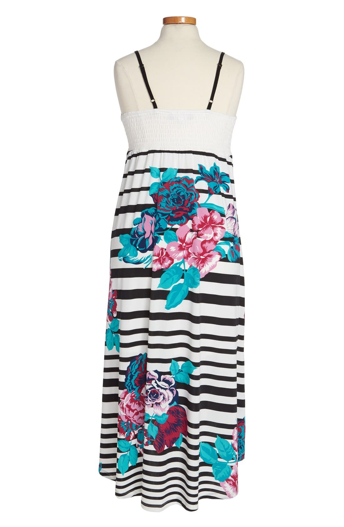 Alternate Image 2  - Truly Me High/Low Dress (Big Girls)