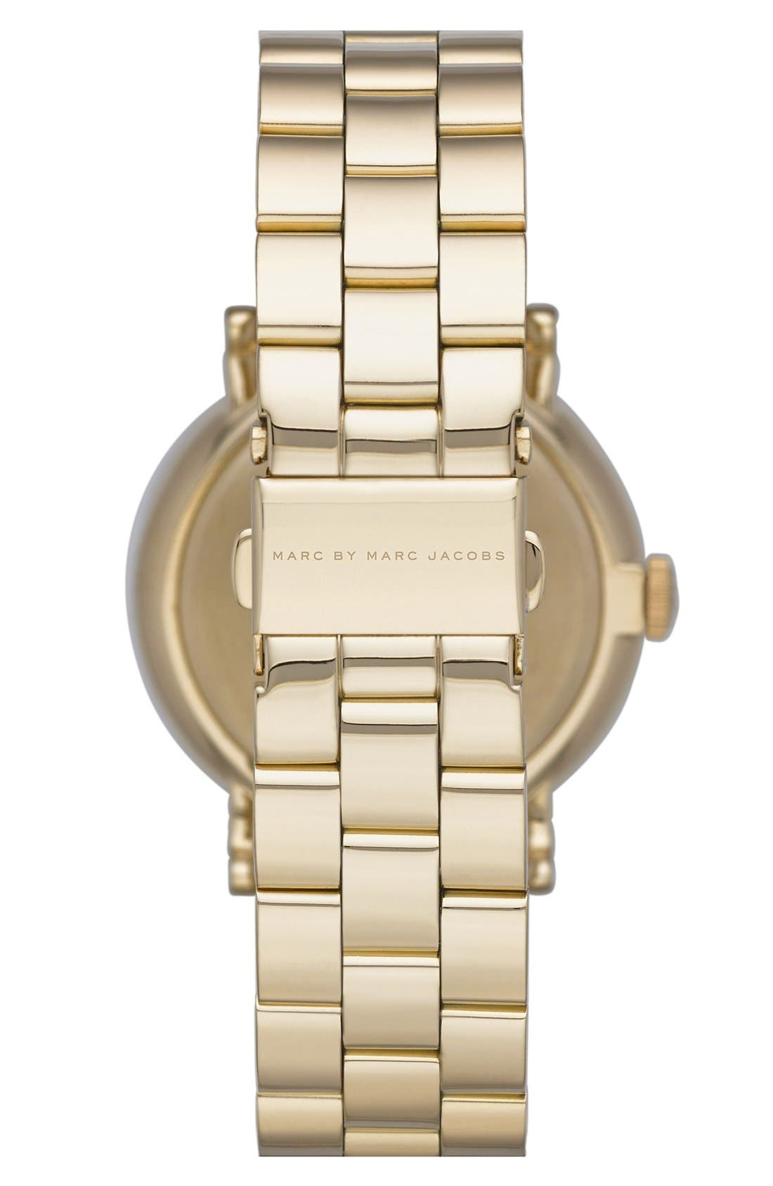 Alternate Image 2  - MARC JACOBS 'Baker' Bracelet Watch, 37mm