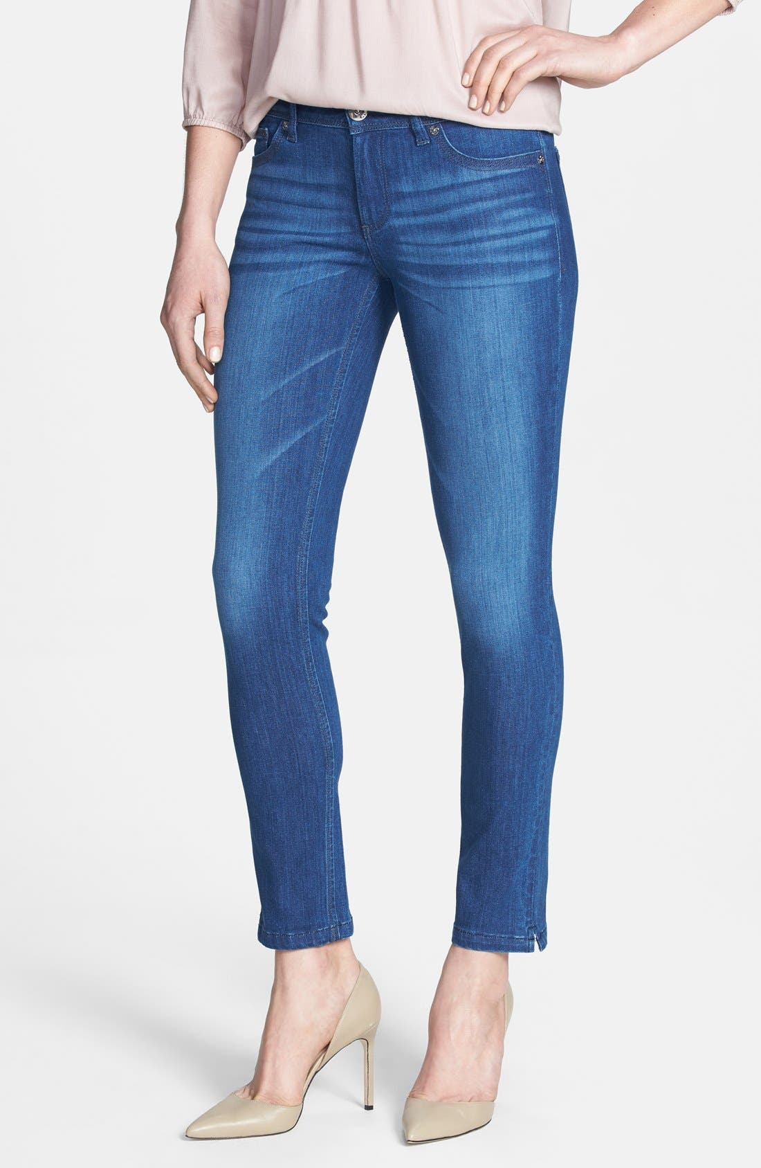 Main Image - DL1961 'Angel' Ankle Cigarette Jeans (Lincoln)