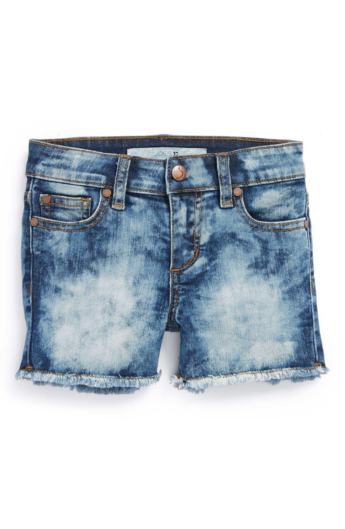 Alternate Image 2  - Joe's Frayed Shorts (Little Girls & Big Girls)