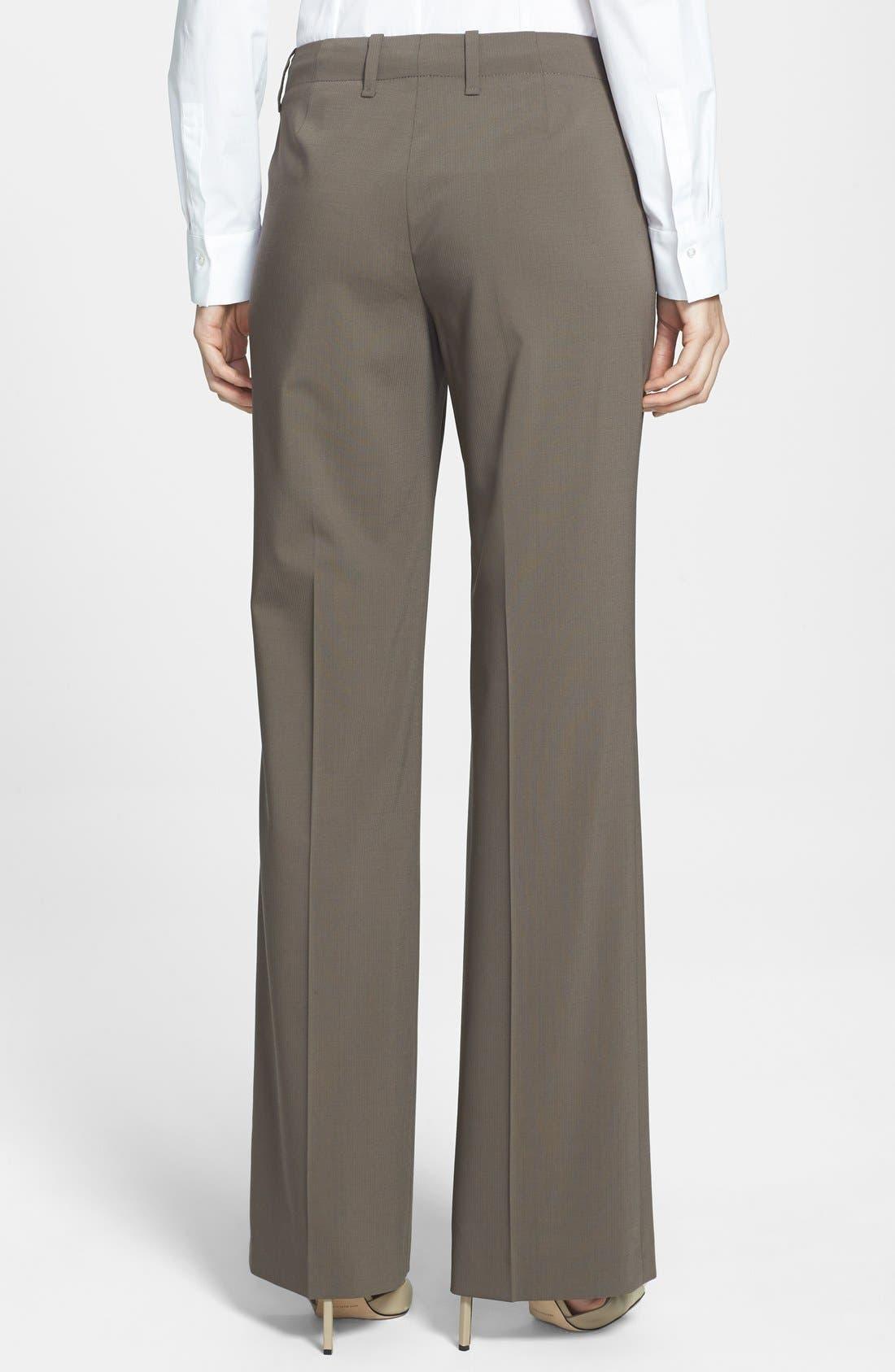 Alternate Image 3  - BOSS 'Tulia' Straight Leg Trousers