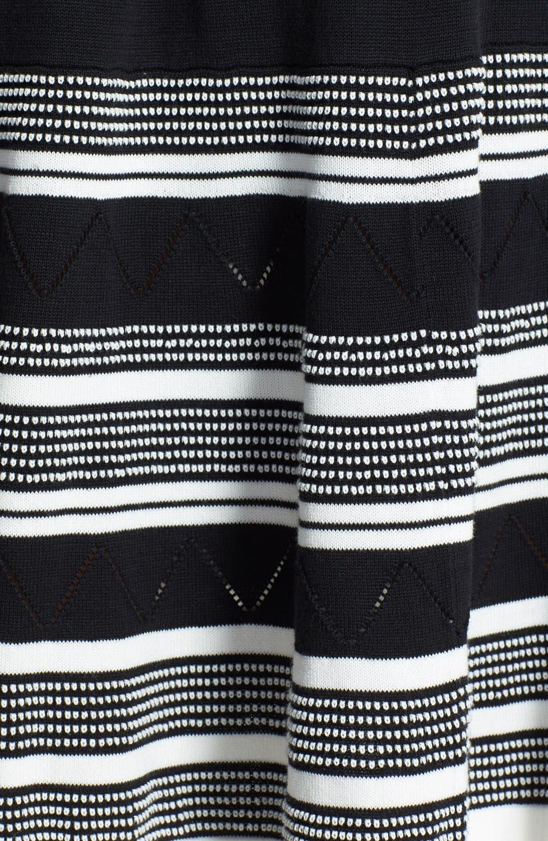 Alternate Image 3  - kate spade new york cotton knit swing dress