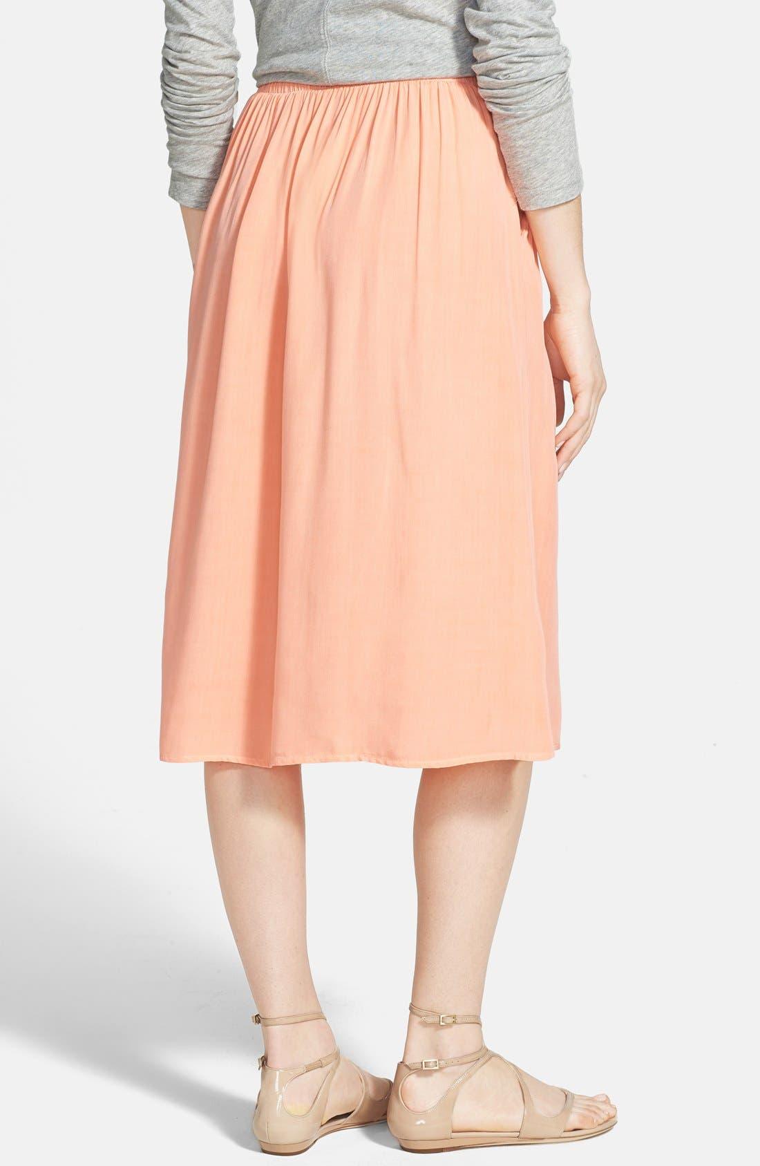 Alternate Image 2  - Splendid Woven Midi Skirt