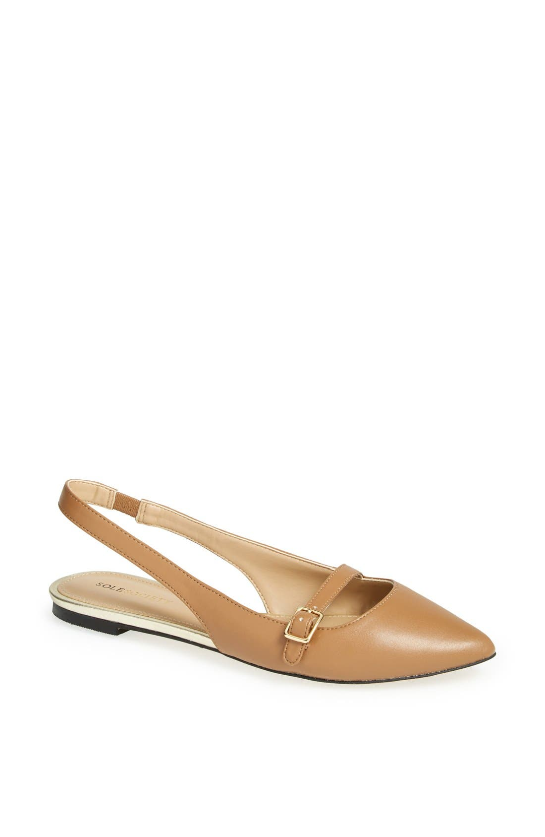 Alternate Image 1 Selected - Sole Society 'Lynette' Flat