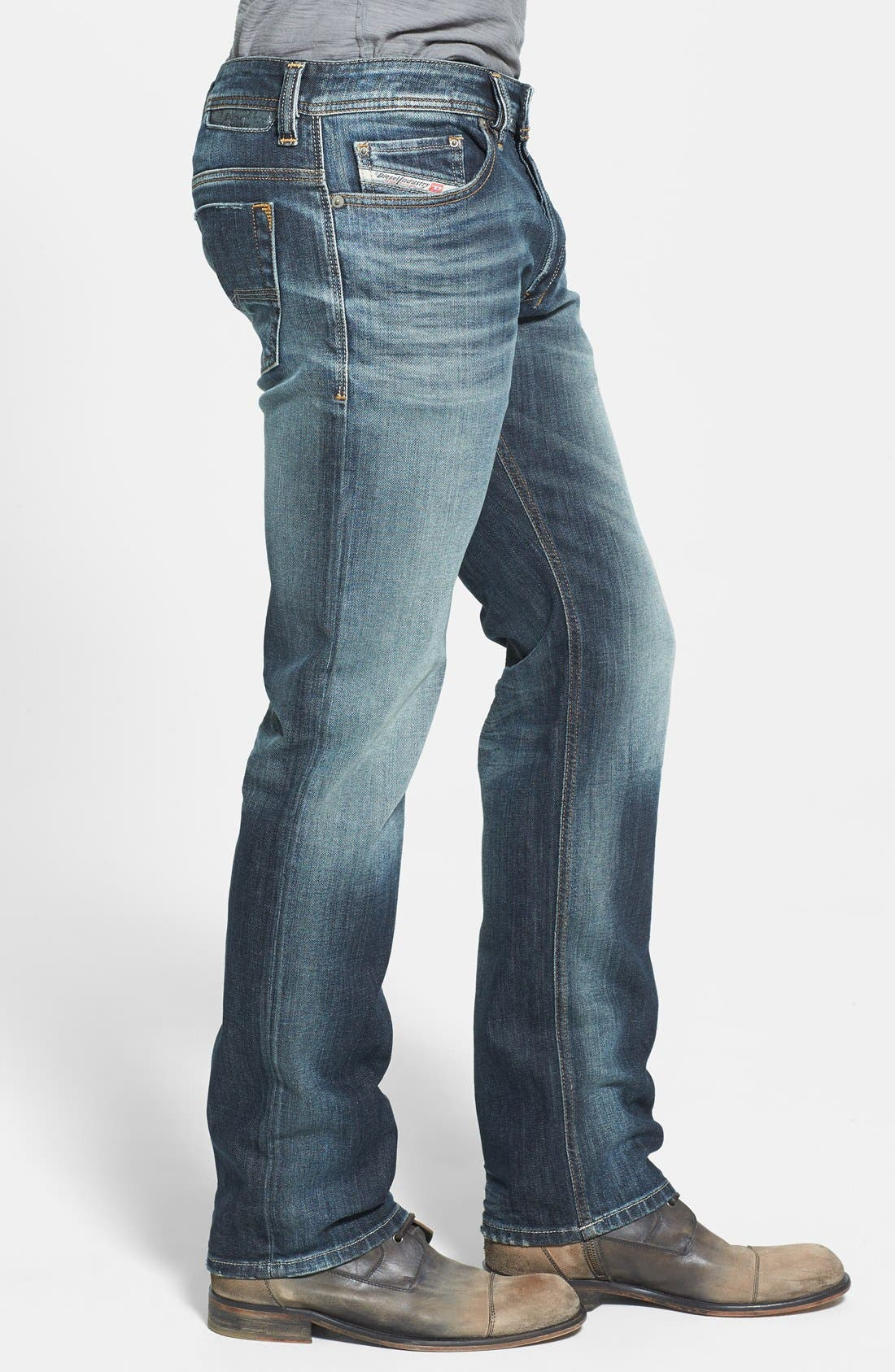 Alternate Image 3  - DIESEL® Safado Slim Fit Jeans (885K)