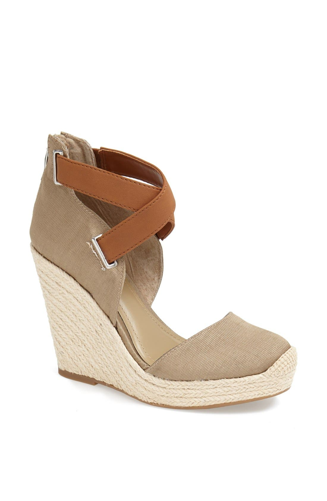 Alternate Image 1 Selected - BCBGeneration 'Glenda' Espadrille Wedge Sandal