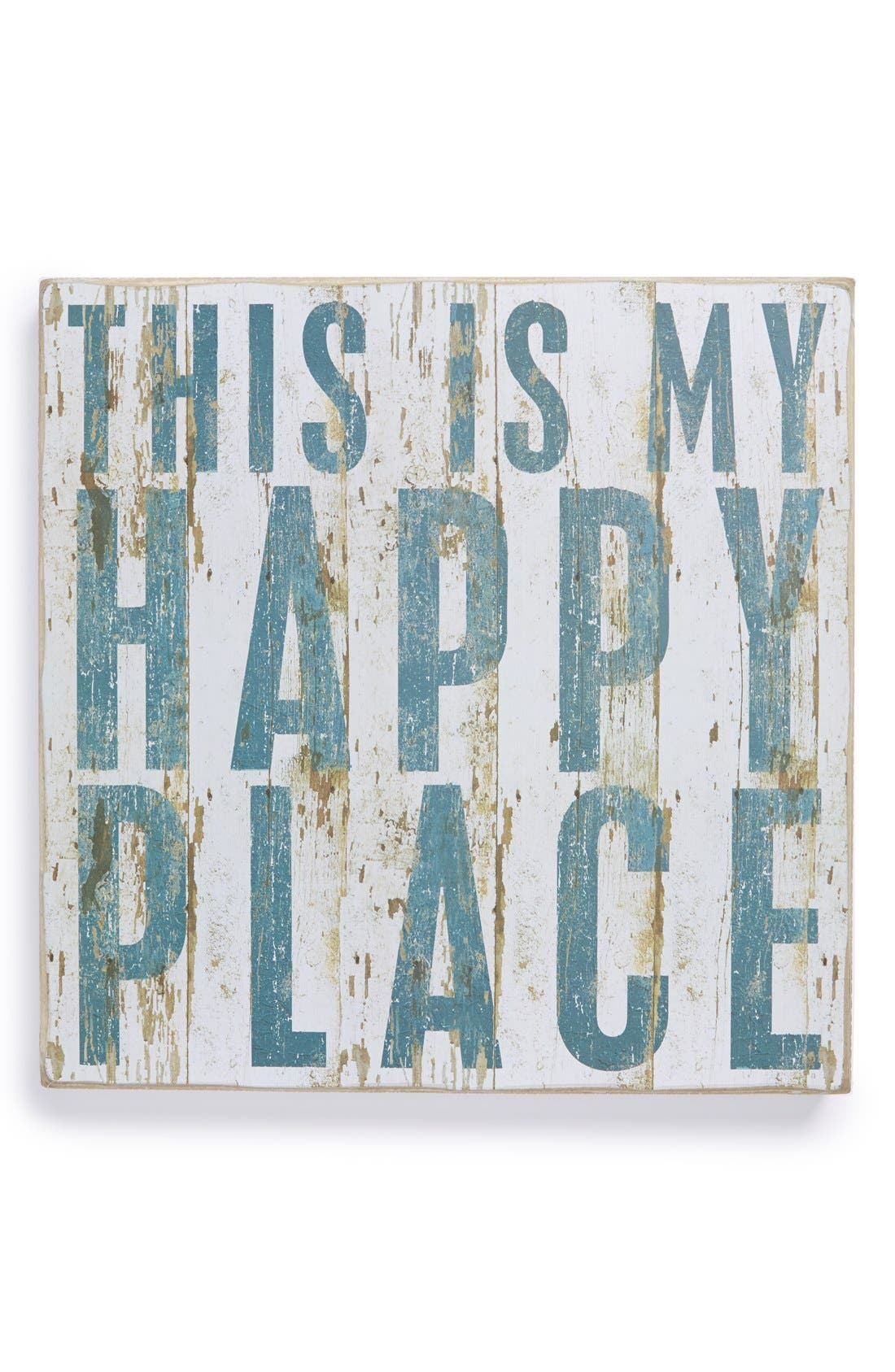 Main Image - Primitives by Kathy 'Happy Place' Box Sign