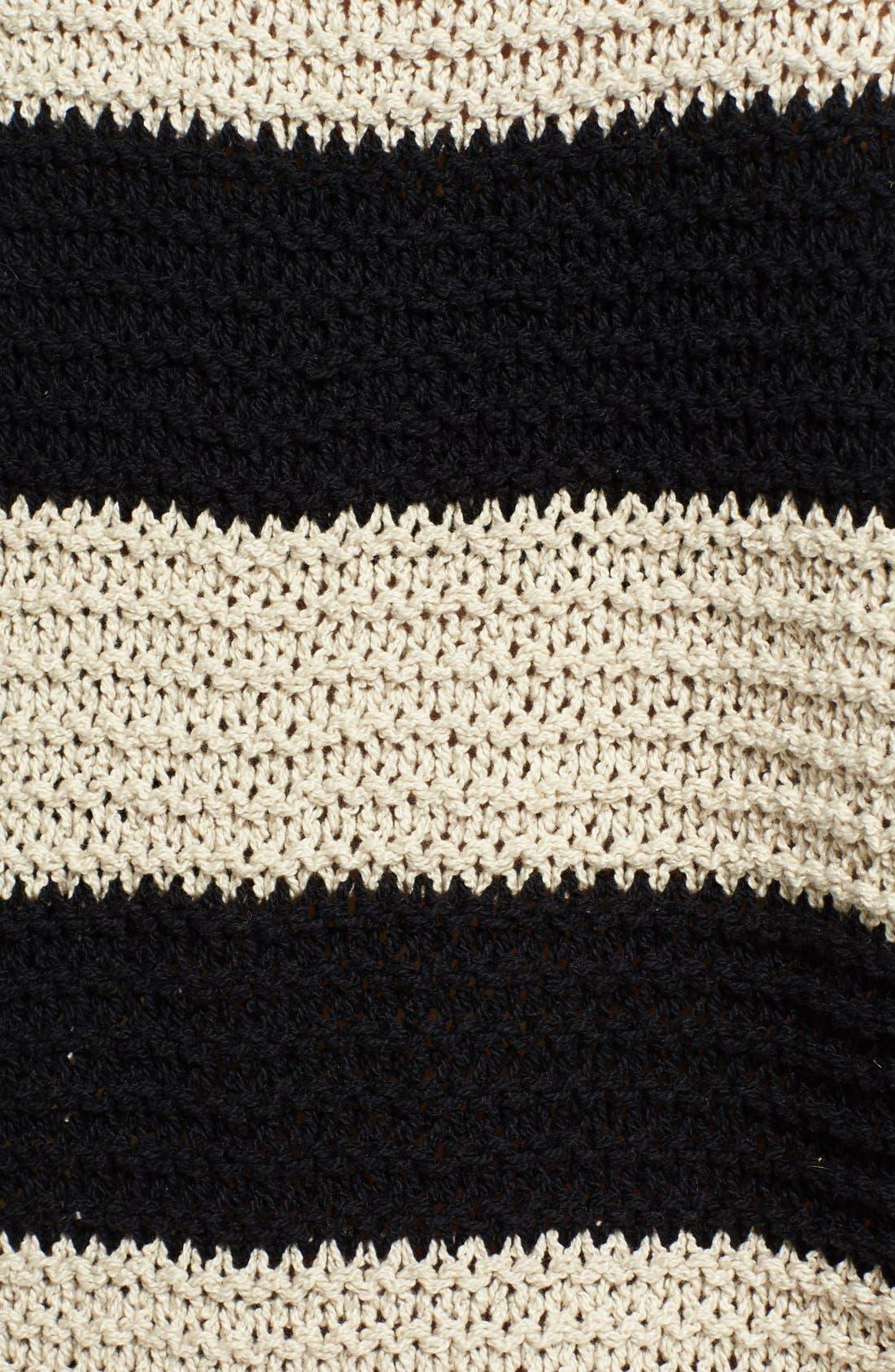 Alternate Image 3  - Free People 'Park Slope' Stripe V-Neck Sweater
