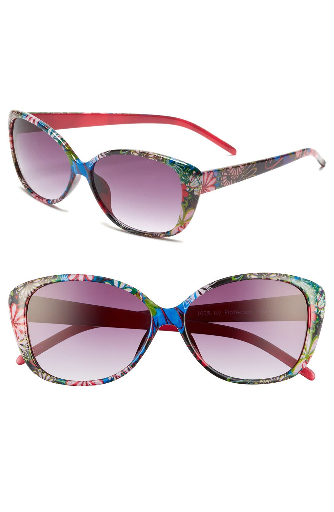 Alternate Image 1 Selected - Fantas Eyes 'Sunset Strip' Sunglasses (Girls)