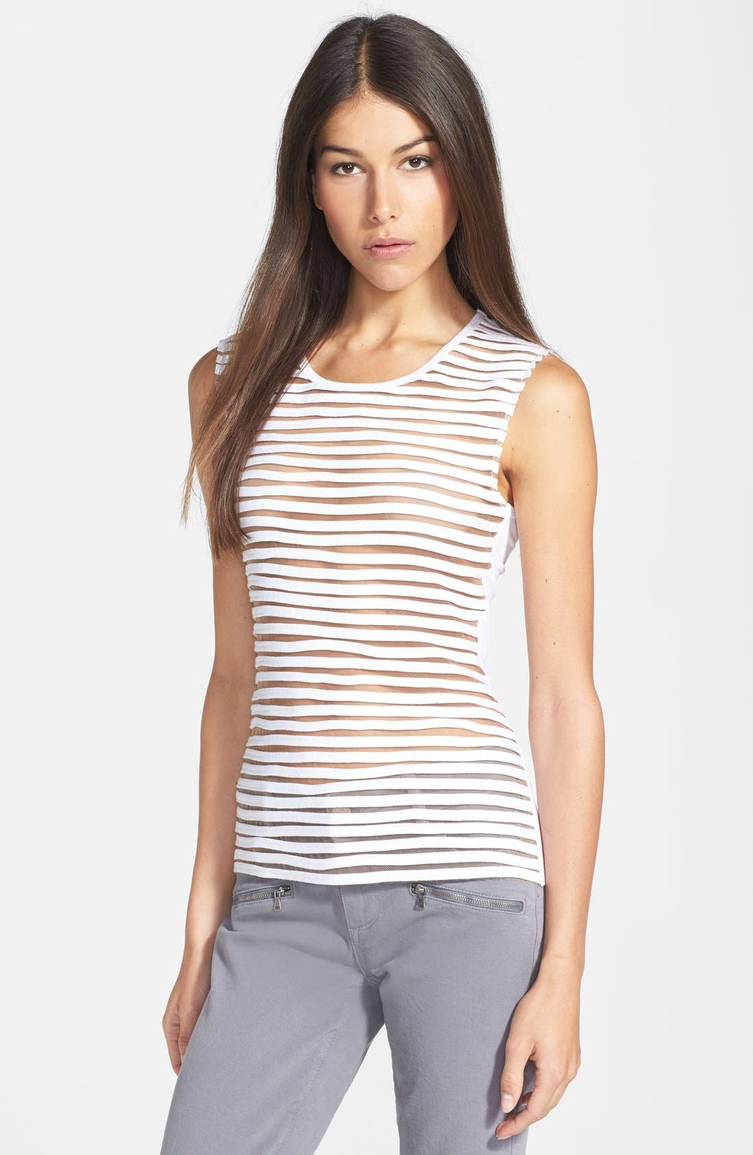 Alternate Image 1 Selected - Bailey 44 'Tiki Torch' Textured Mesh Front Tank