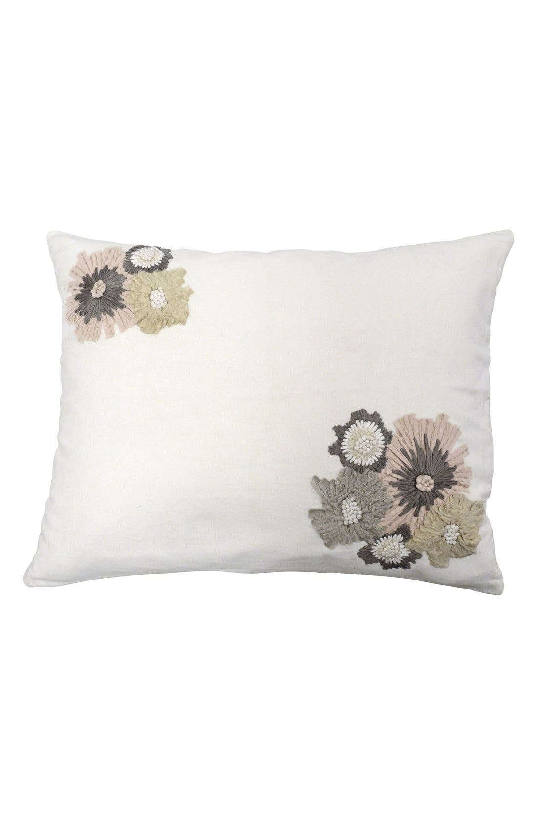 Alternate Image 1 Selected - DKNY 'Pure Indulge' Floral Pillow