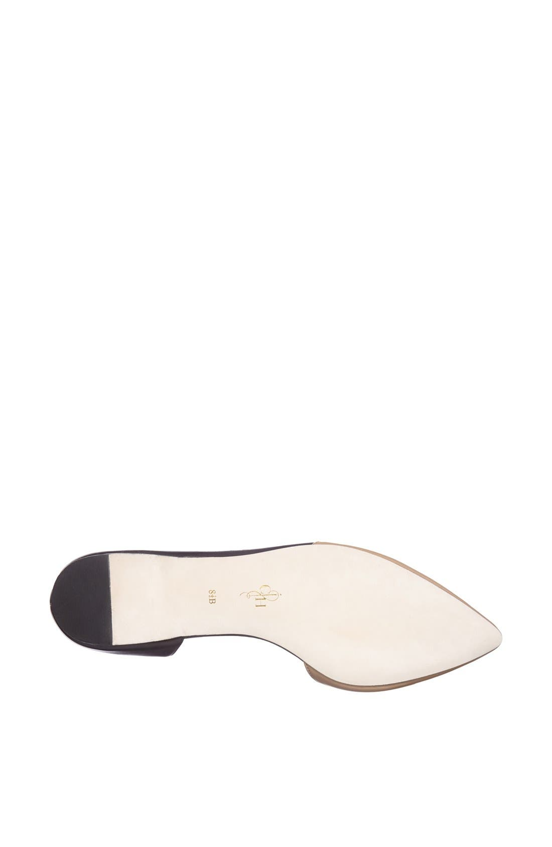 Alternate Image 4  - Cole Haan 'Amalia' Half d'Orsay Skimmer Flat