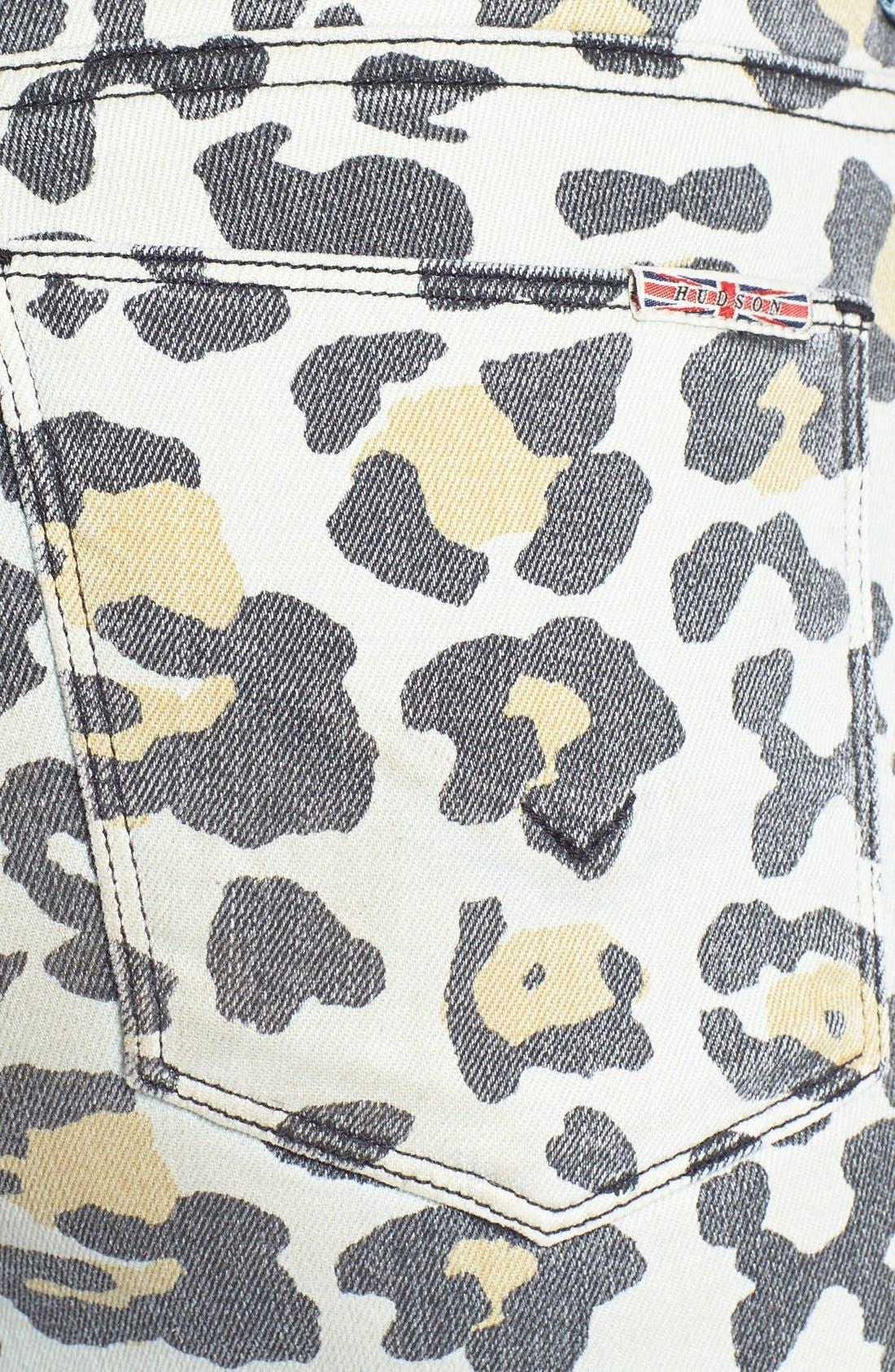 Alternate Image 3  - Hudson Jeans 'Patti' Print Back Skinny Jeans (Posterior Prey)