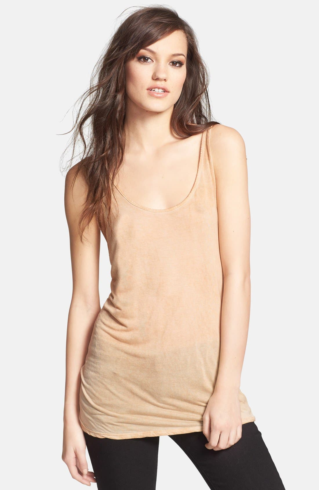 Alternate Image 1 Selected - Leith Scoop Back Knit Tank