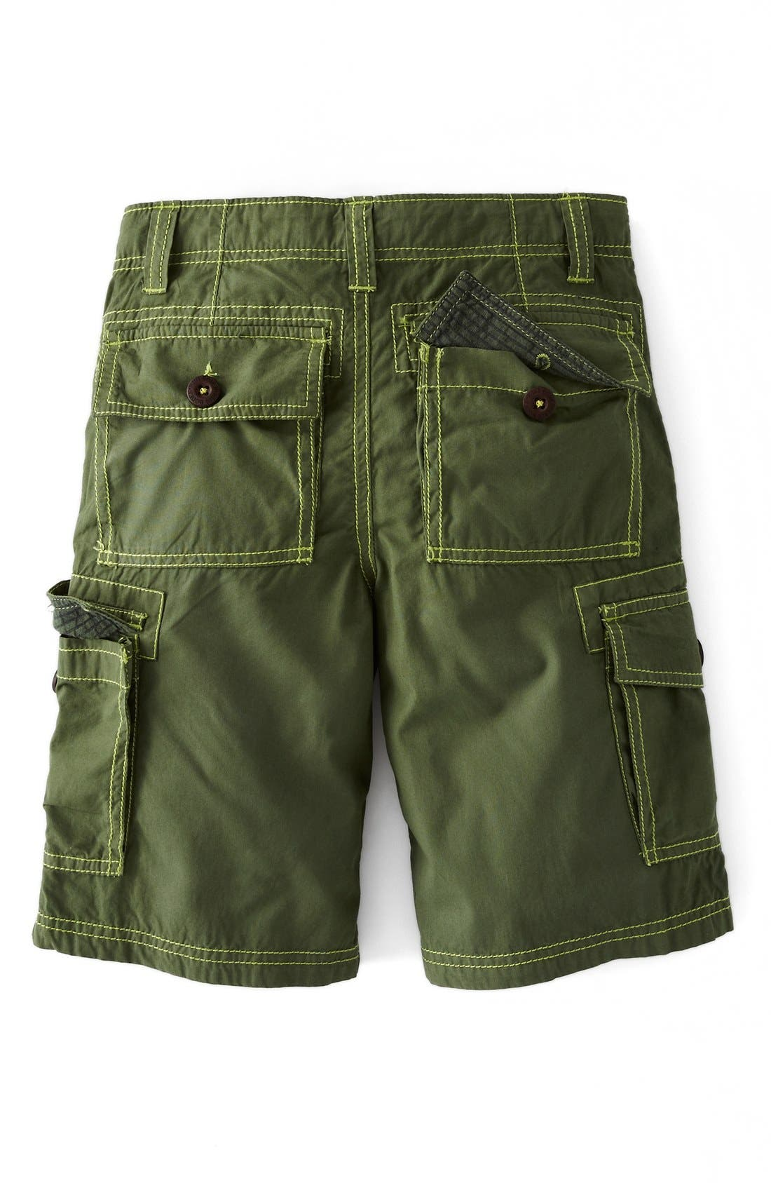 Alternate Image 2  - Mini Boden 'Summer' Cargo Shorts (Toddlers, Little Boys & Big Boys)