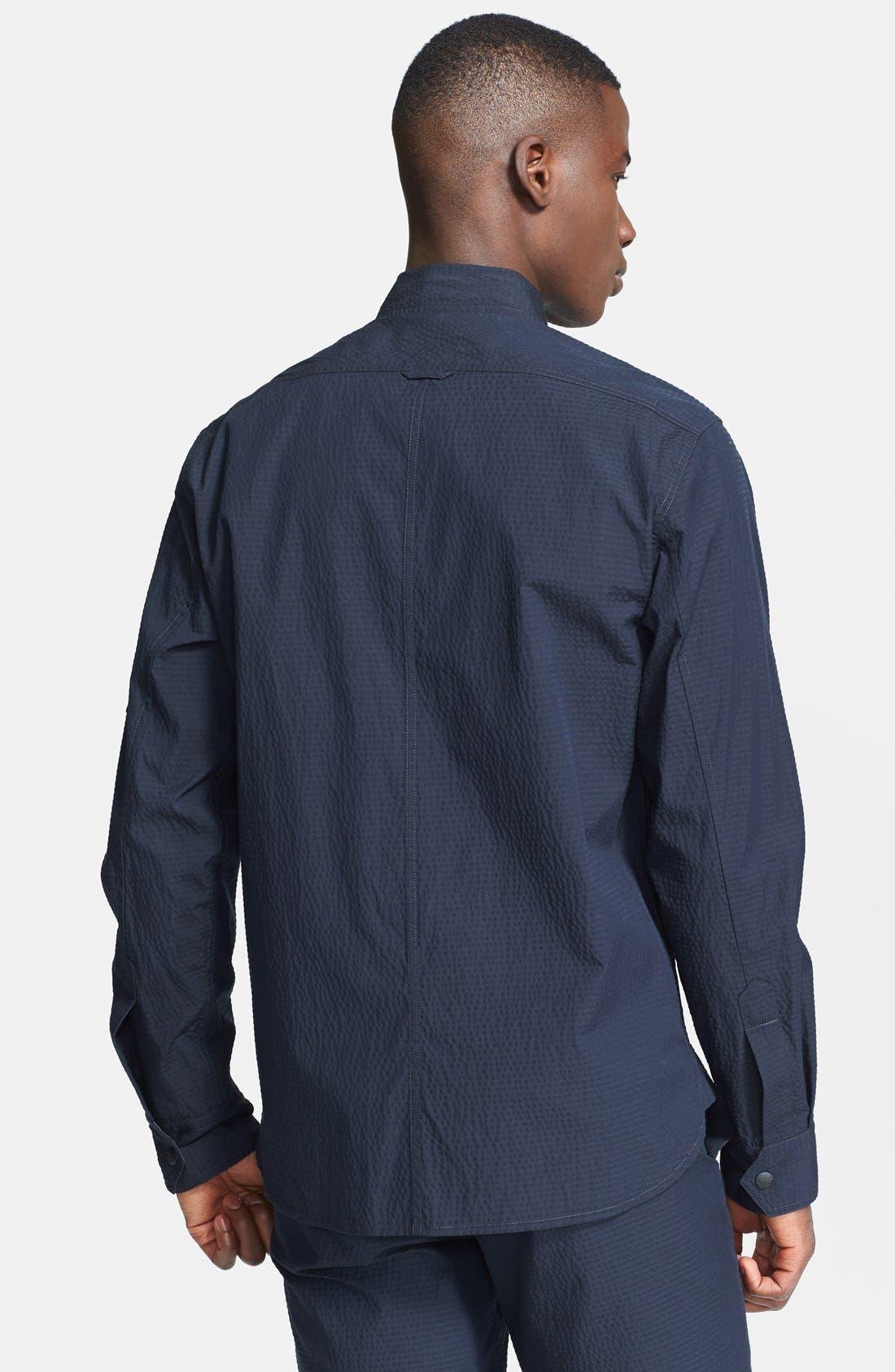 Alternate Image 2  - rag & bone 'Hendon' Seersucker Shirt Jacket