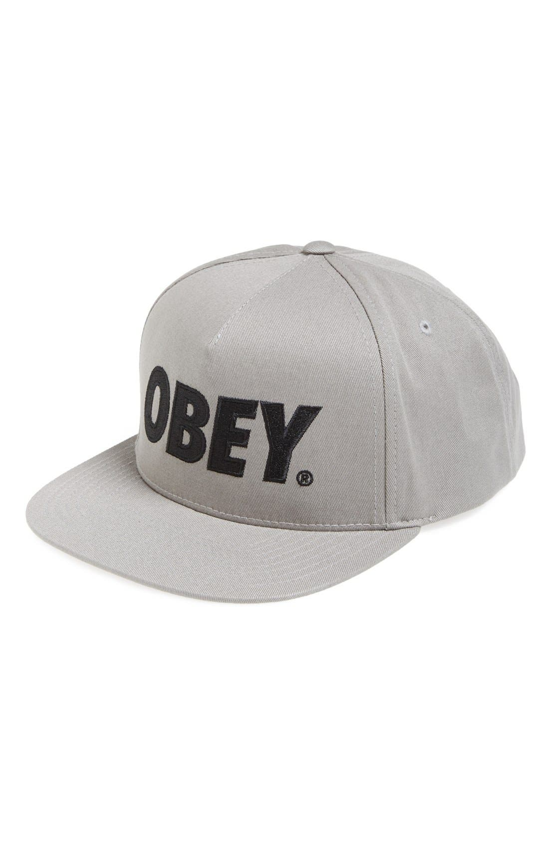 Alternate Image 1 Selected - Obey 'The City' Snapback Baseball Cap