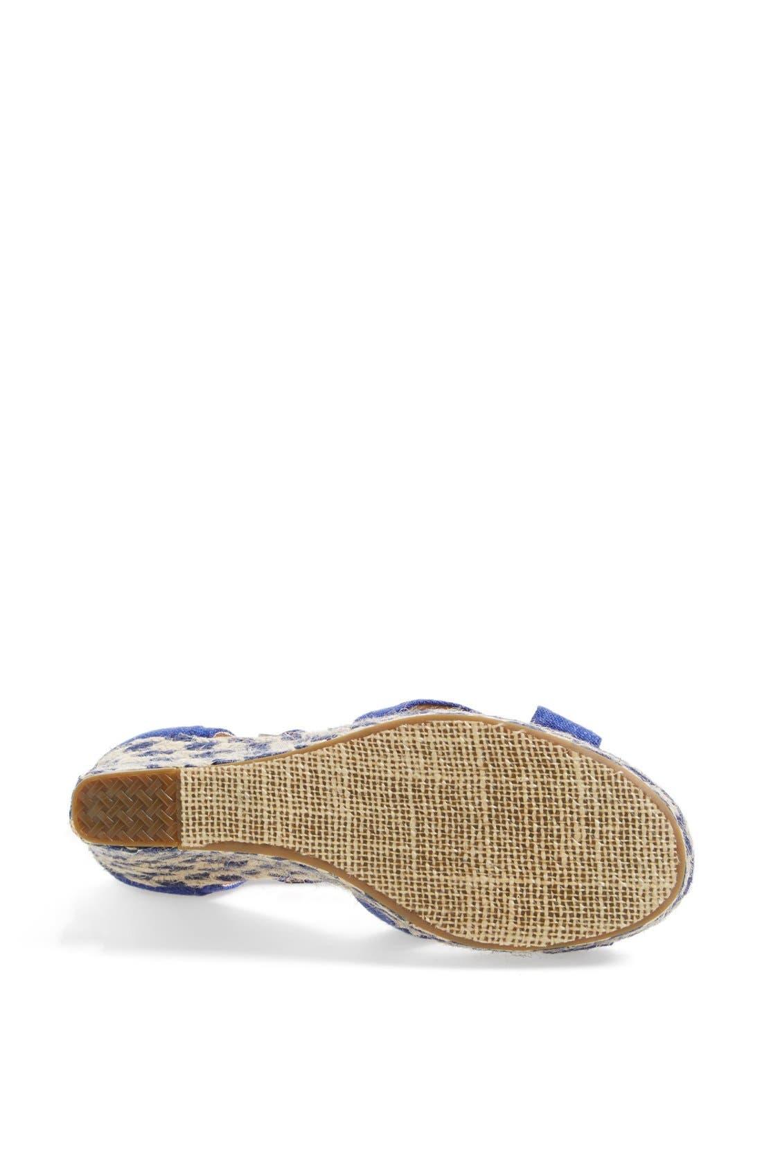 Alternate Image 4  - TOMS 'Mixed Rope' Wedge Sandal