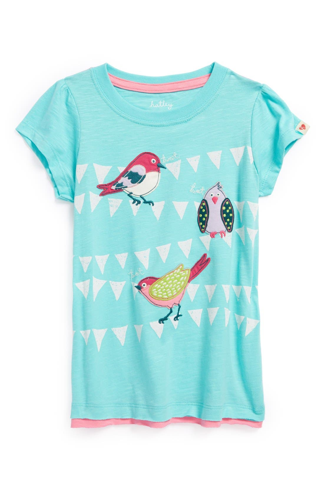 Alternate Image 1 Selected - Hatley Butterfly Graphic Tee (Little Girls & Big Girls)