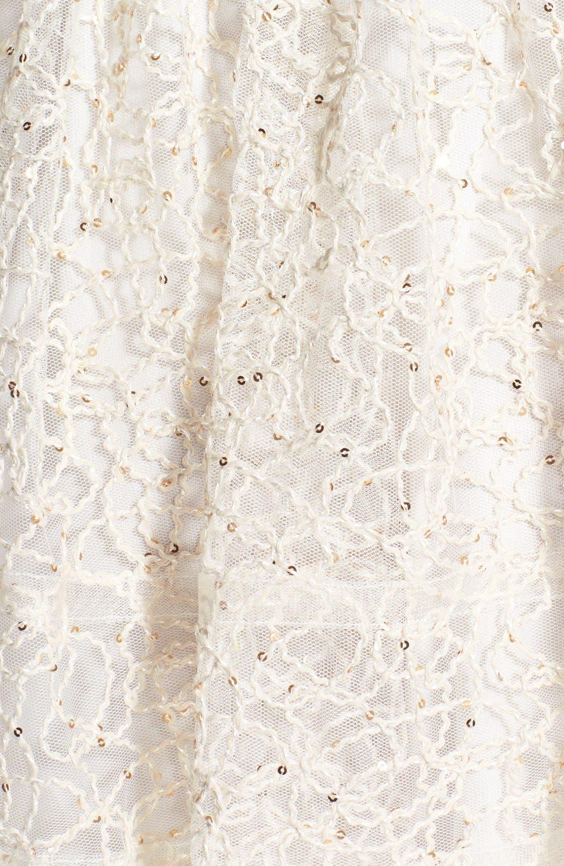 Alternate Image 4  - Betsey Johnson Strapless Fit & Flare Dress