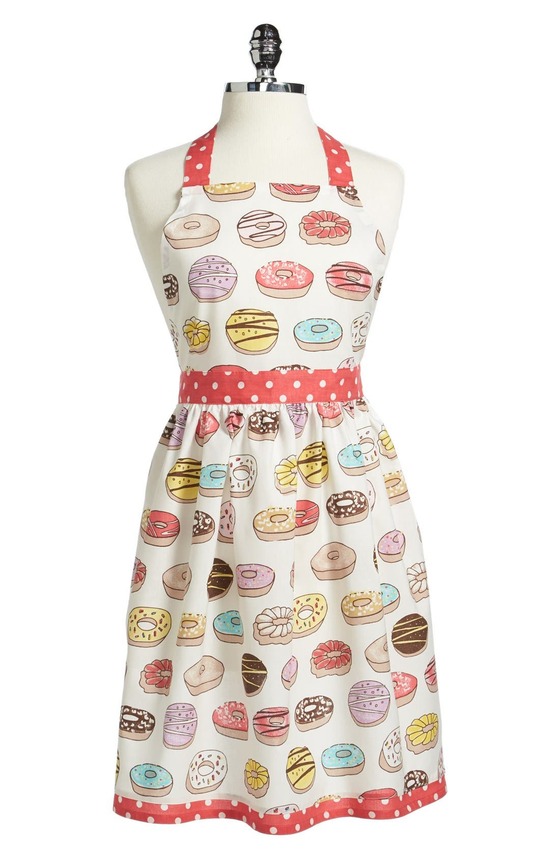 Alternate Image 1 Selected - PJ Salvage Donut Print Cotton Apron