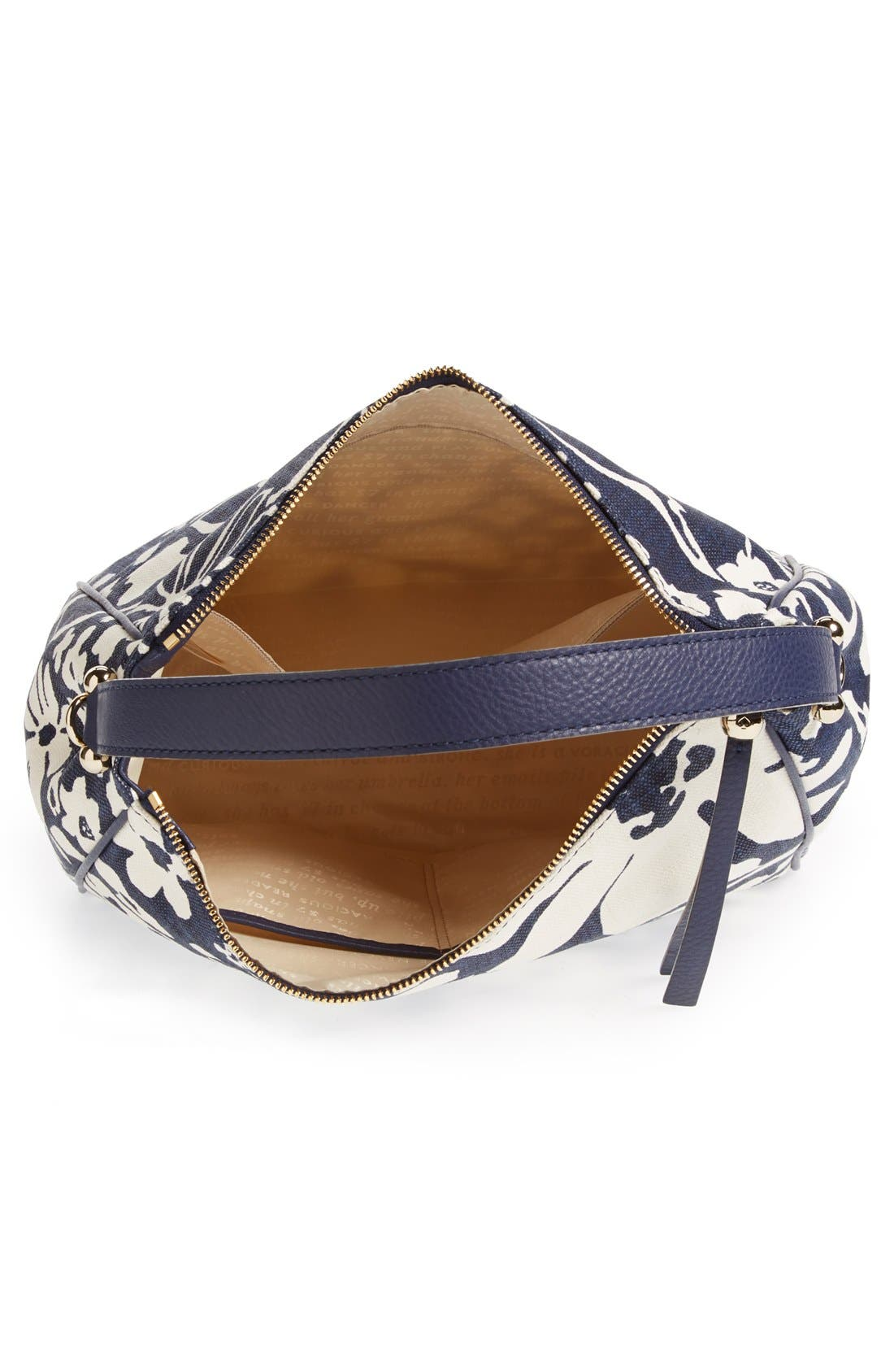 Alternate Image 3  - kate spade new york 'small haven' canvas hobo