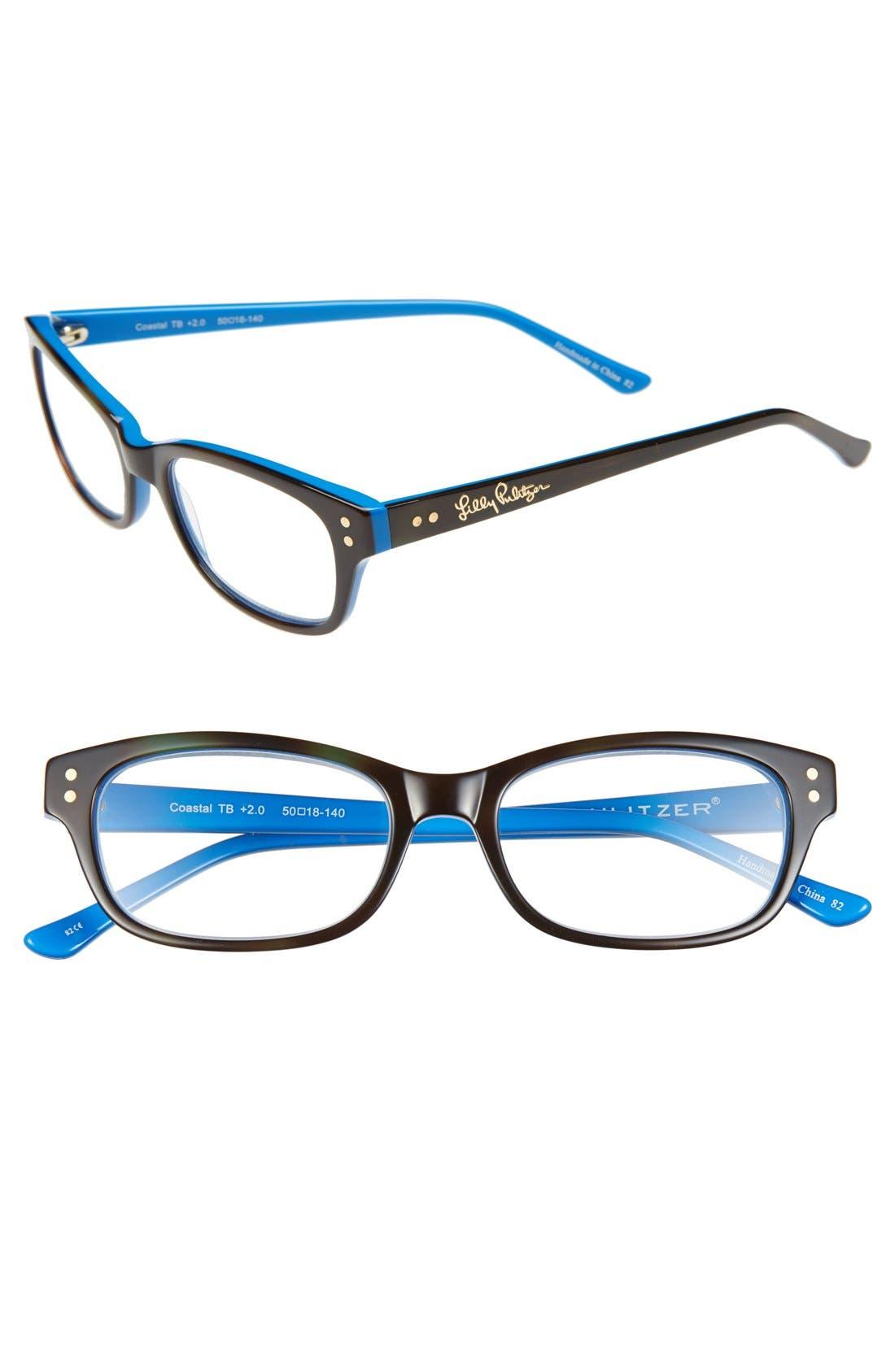 Main Image - Lilly Pulitzer® 'Coastal' 50mm Reading Glasses