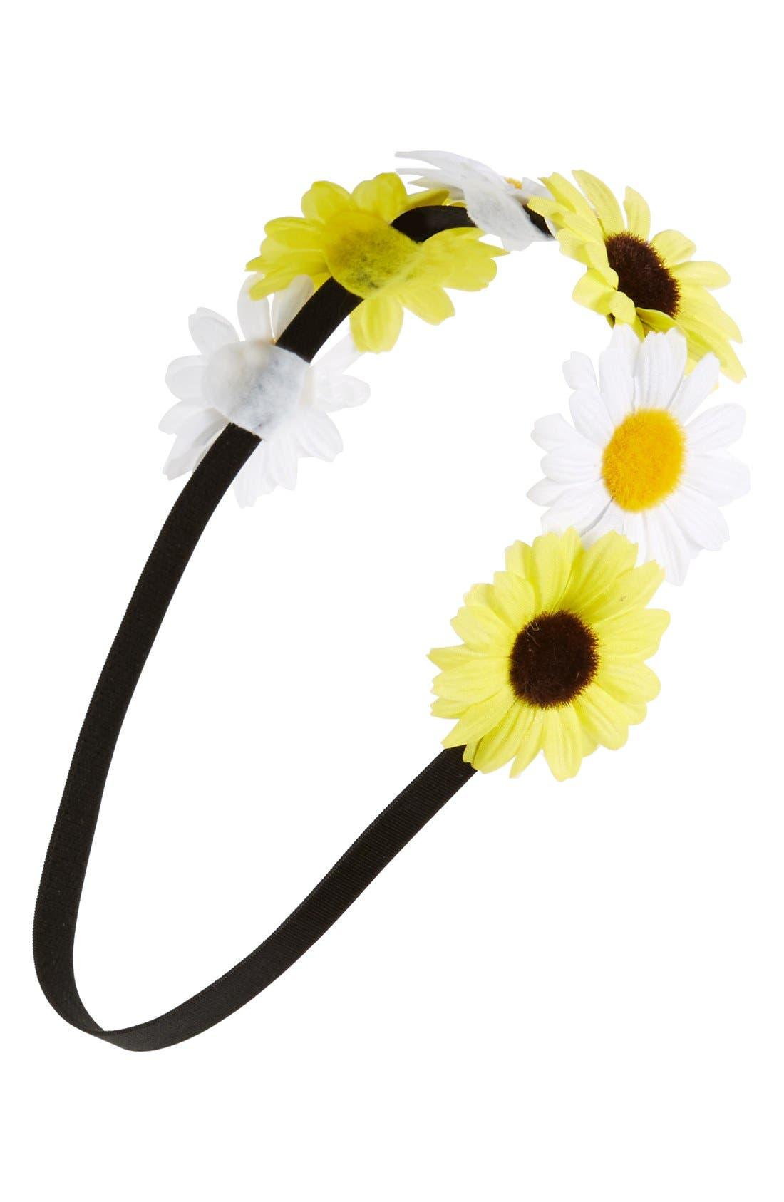 Alternate Image 1 Selected - BP. Daisy Headband (Juniors)