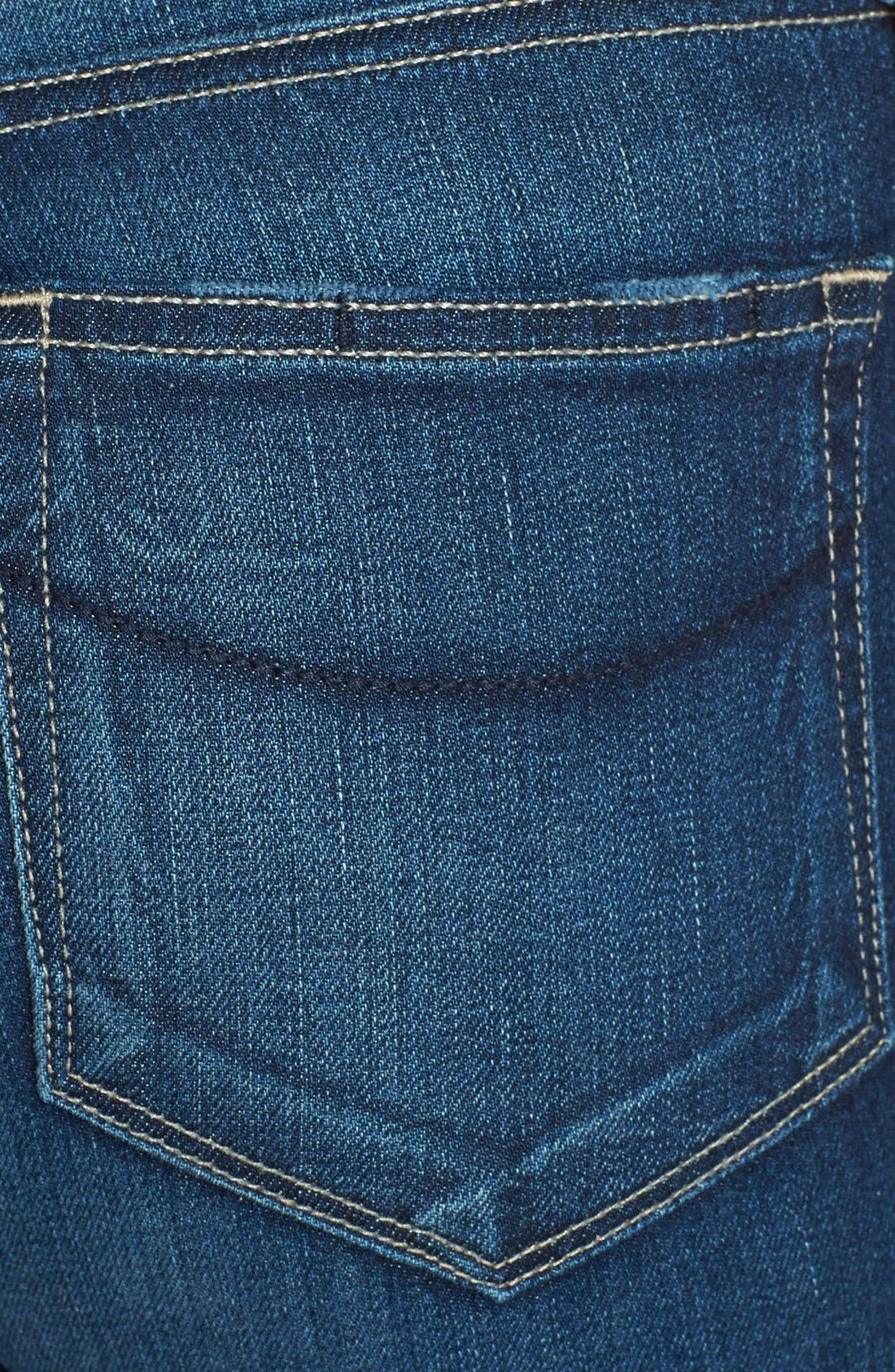 Alternate Image 3  - PAIGE 'Hoxton' High Rise Skinny Jeans (Woodrow)
