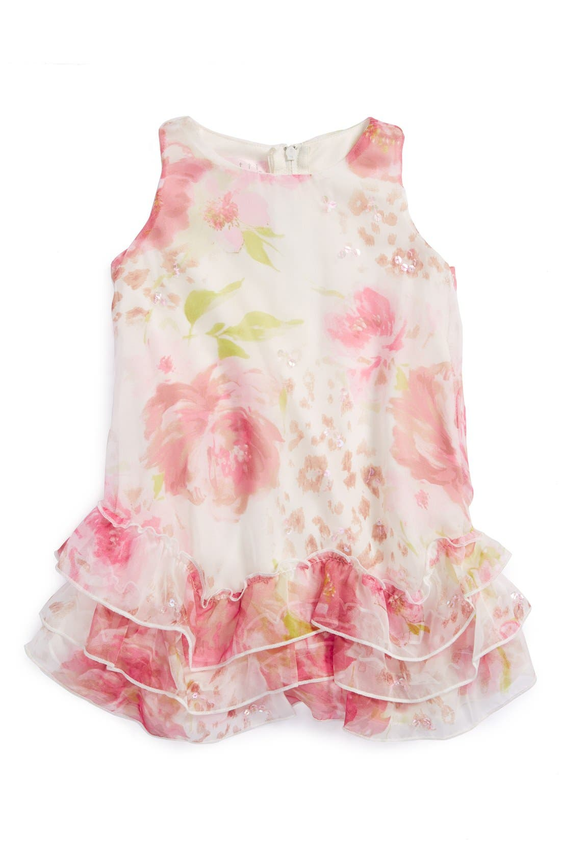 Alternate Image 1 Selected - Biscotti 'Pretty Wild' Sleeveless Dress (Baby Girls)
