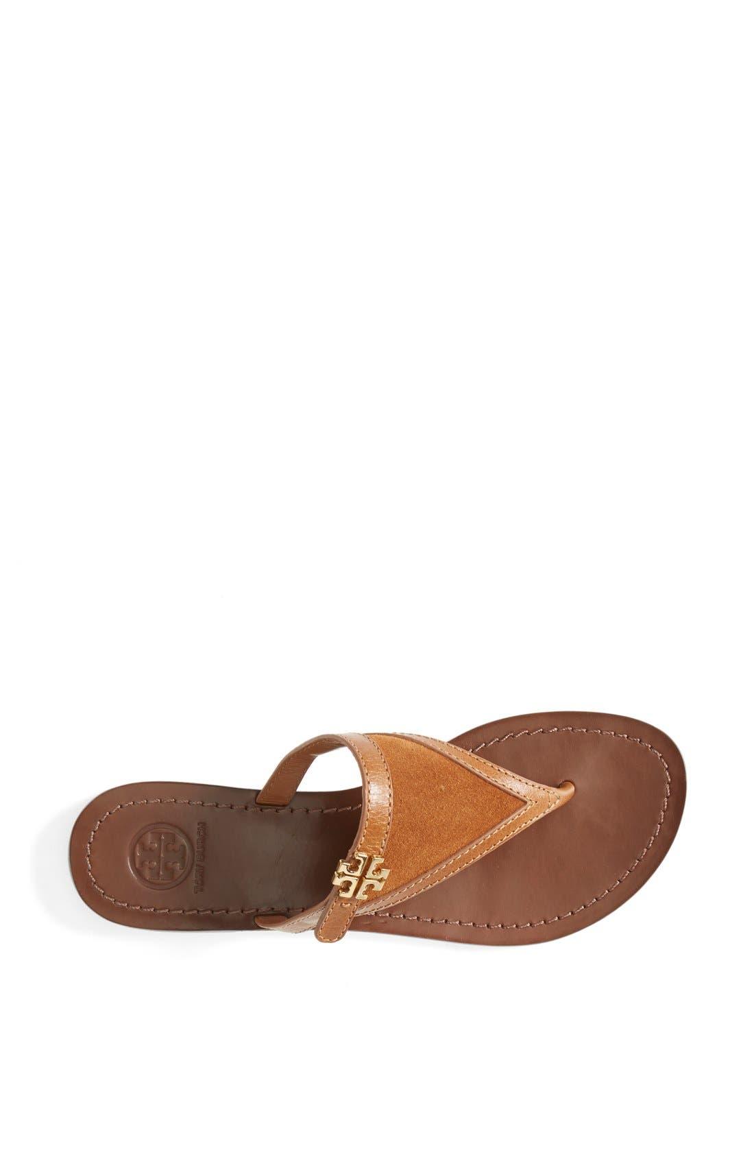 Alternate Image 3  - Tory Burch 'Eloise' Flat Thong Sandal (Nordstrom Exclusive) (Women)