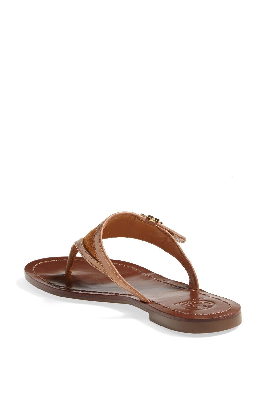 Alternate Image 2  - Tory Burch 'Eloise' Flat Thong Sandal (Nordstrom Exclusive) (Women)