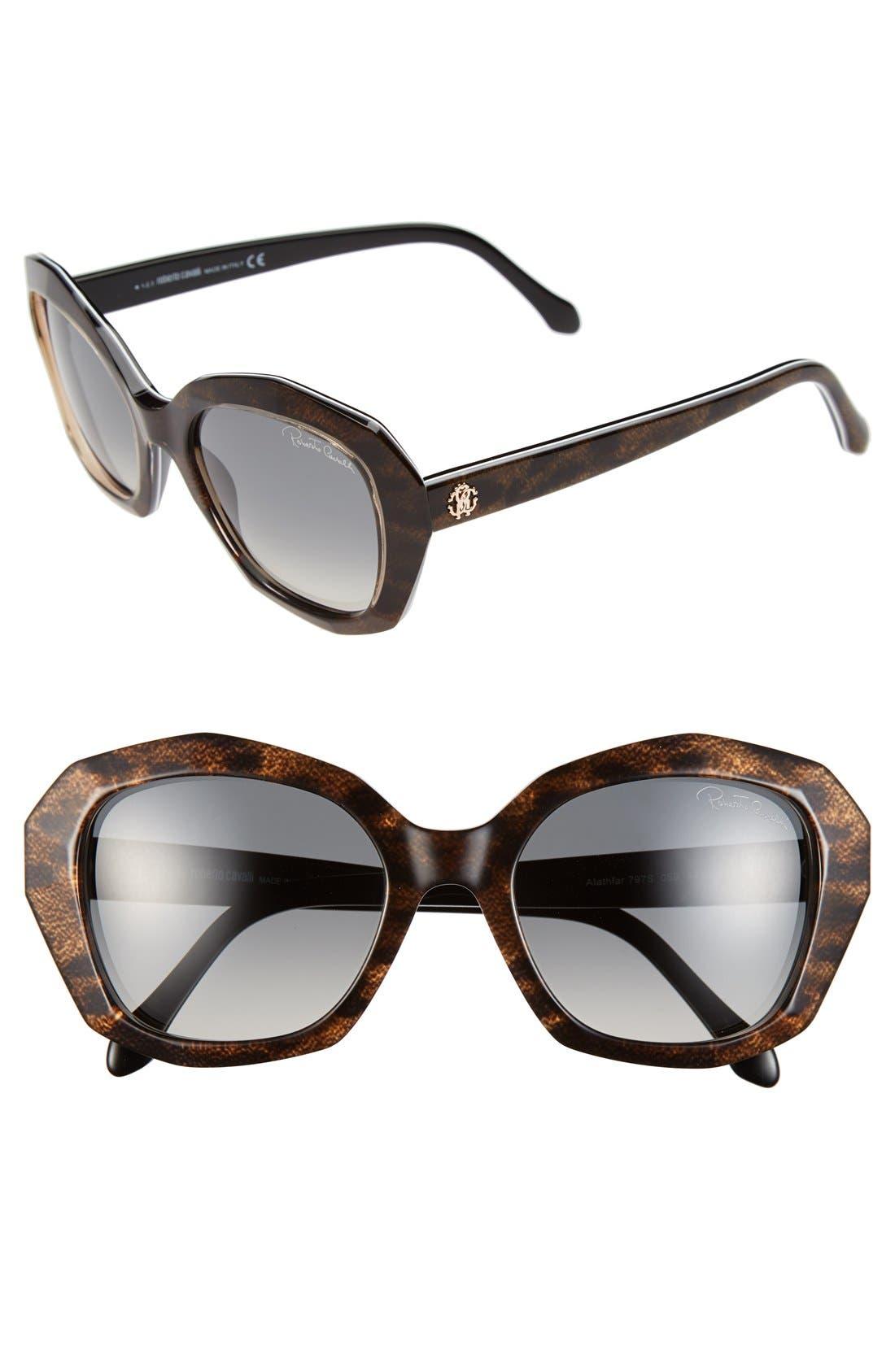 Main Image - Roberto Cavalli 'Alathfar' 54mm Sunglasses