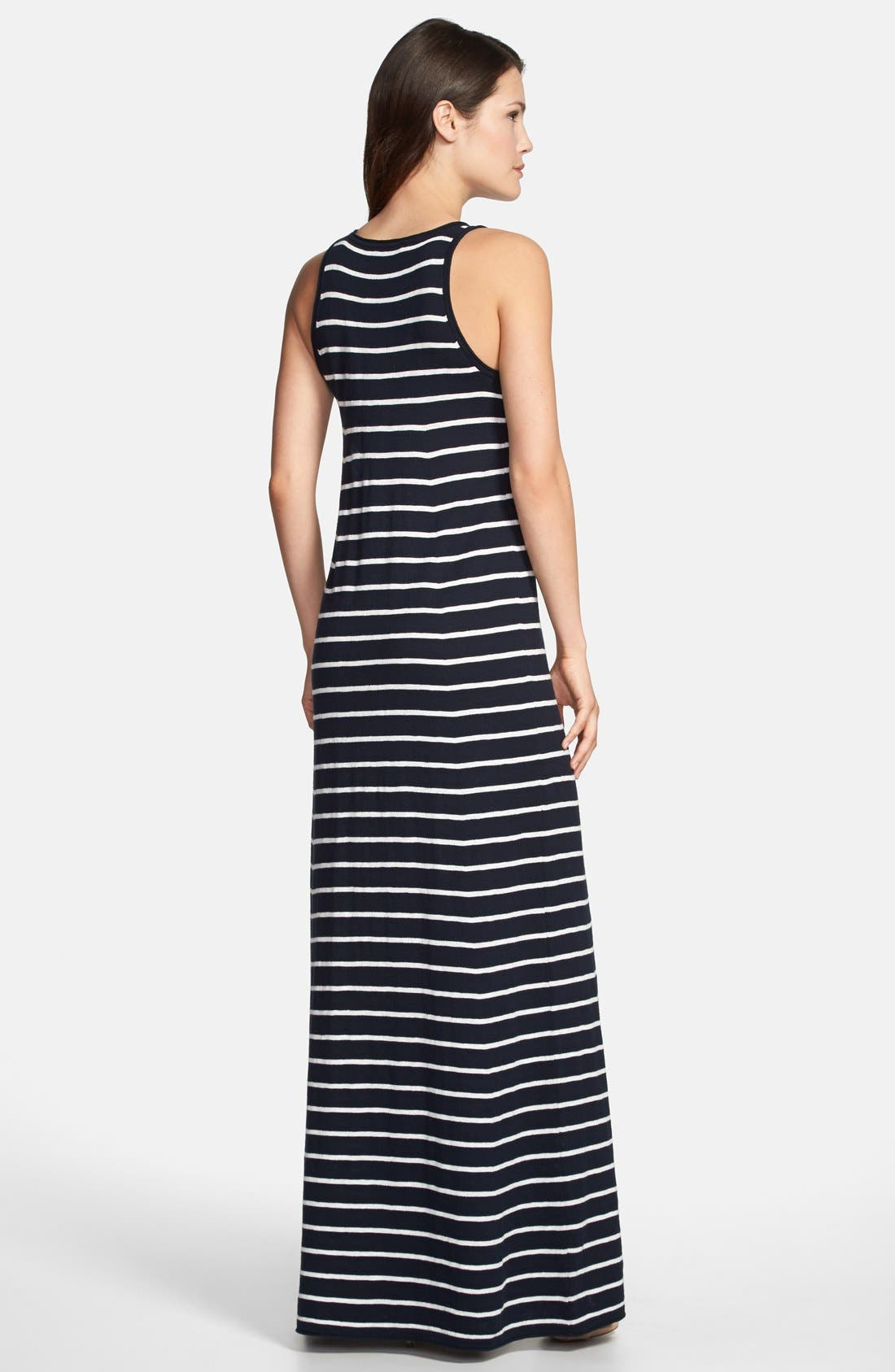 Alternate Image 2  - Vince Stripe Maxi Dress