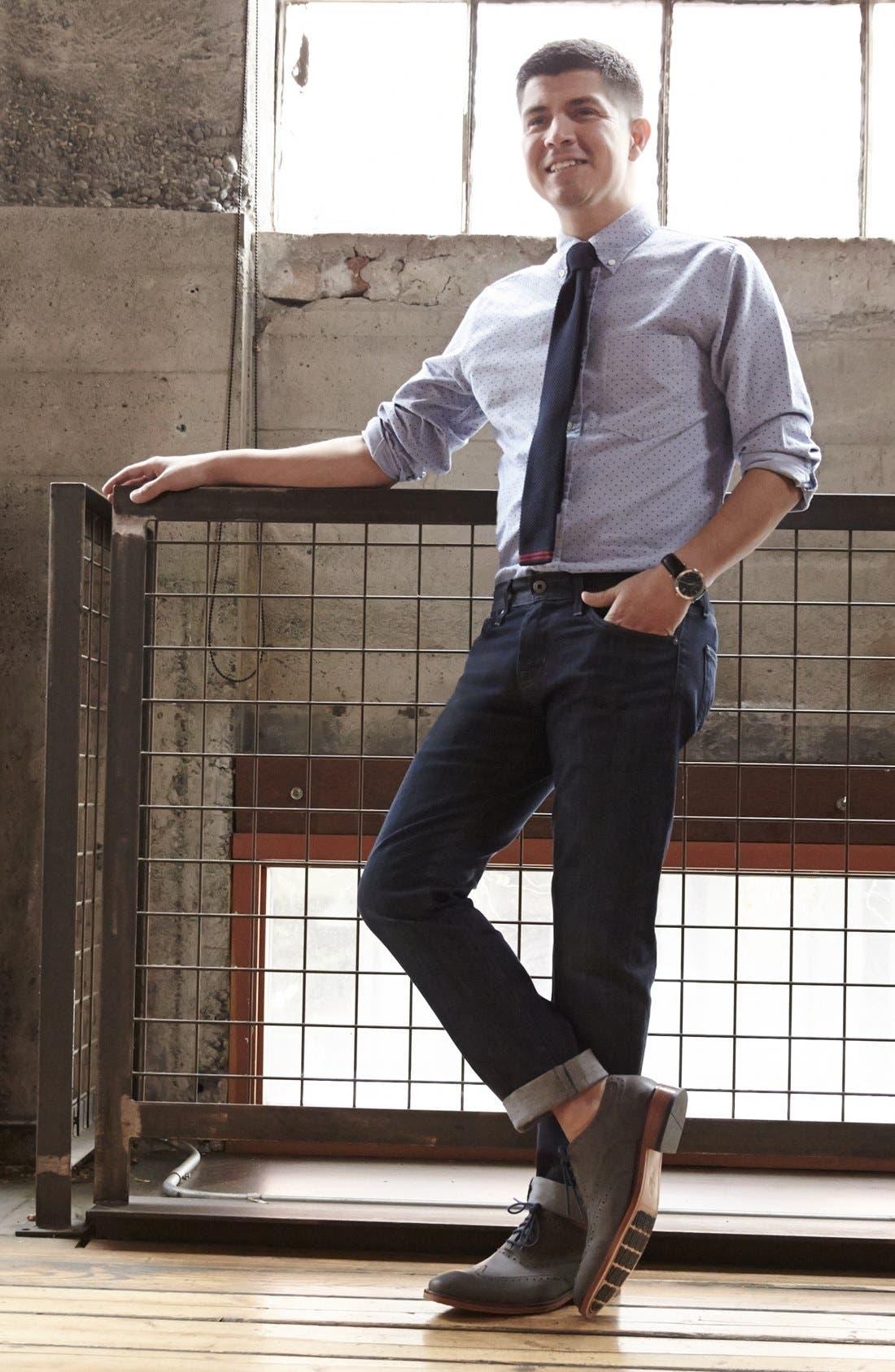 Alternate Image 5  - AG 'Matchbox' Slim Fit Jeans (Bunker)