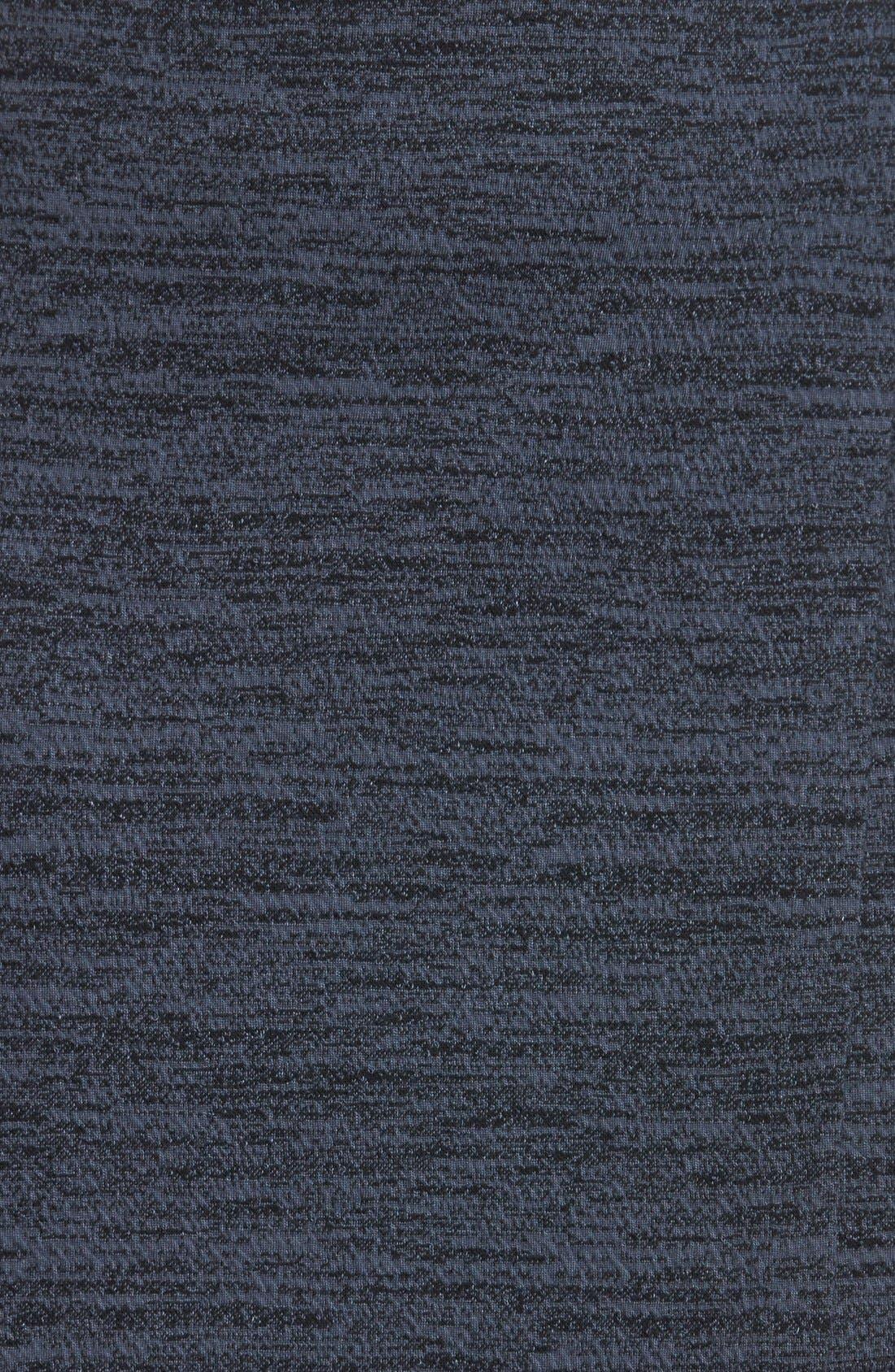 Alternate Image 3  - Halogen® Faux Wrap Textured Knit Skirt (Regular & Petite)