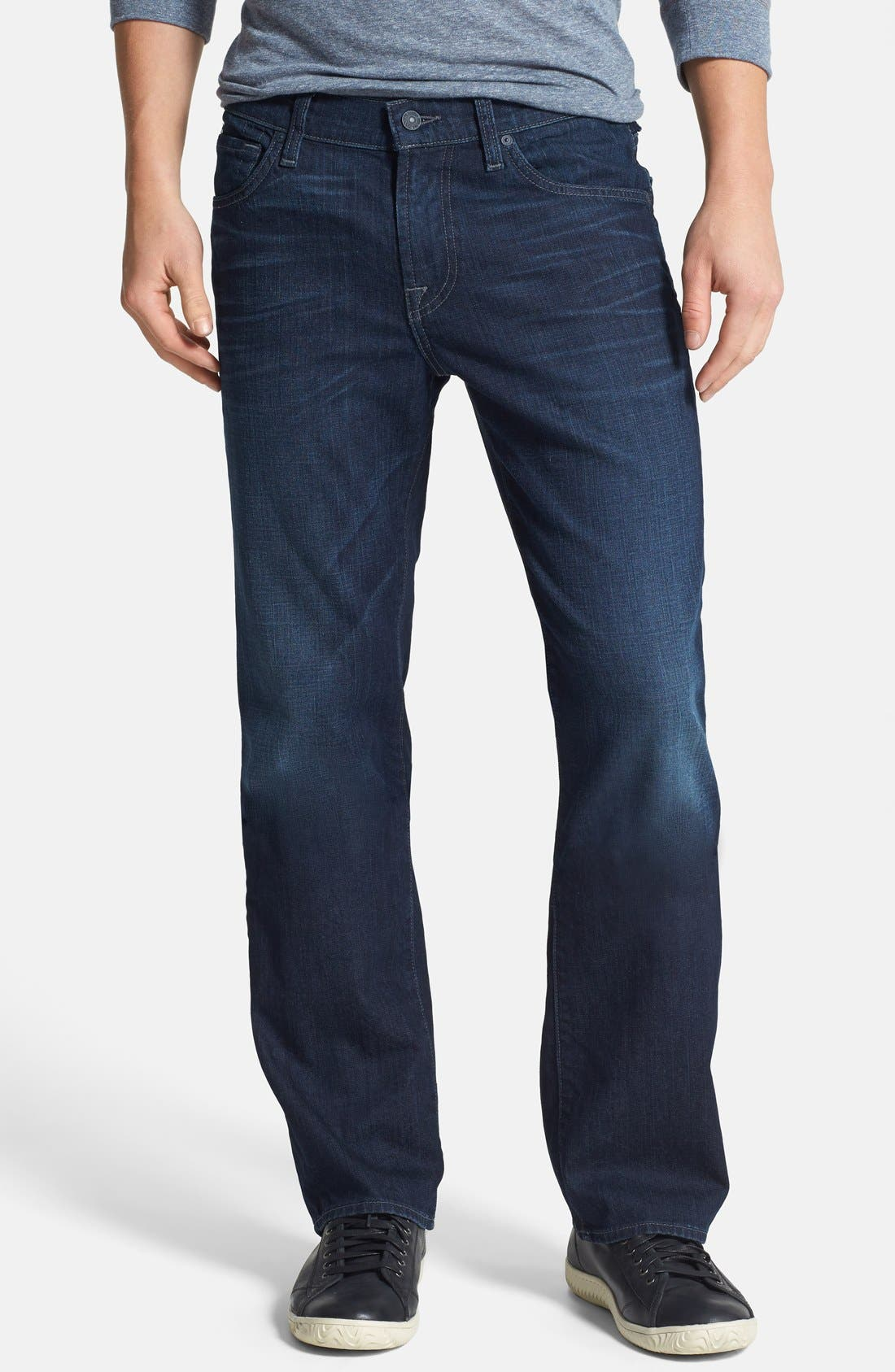 Alternate Image 1 Selected - 7 For All Mankind® 'Austyn' Relaxed Straight Leg Jeans (Broadview Way)