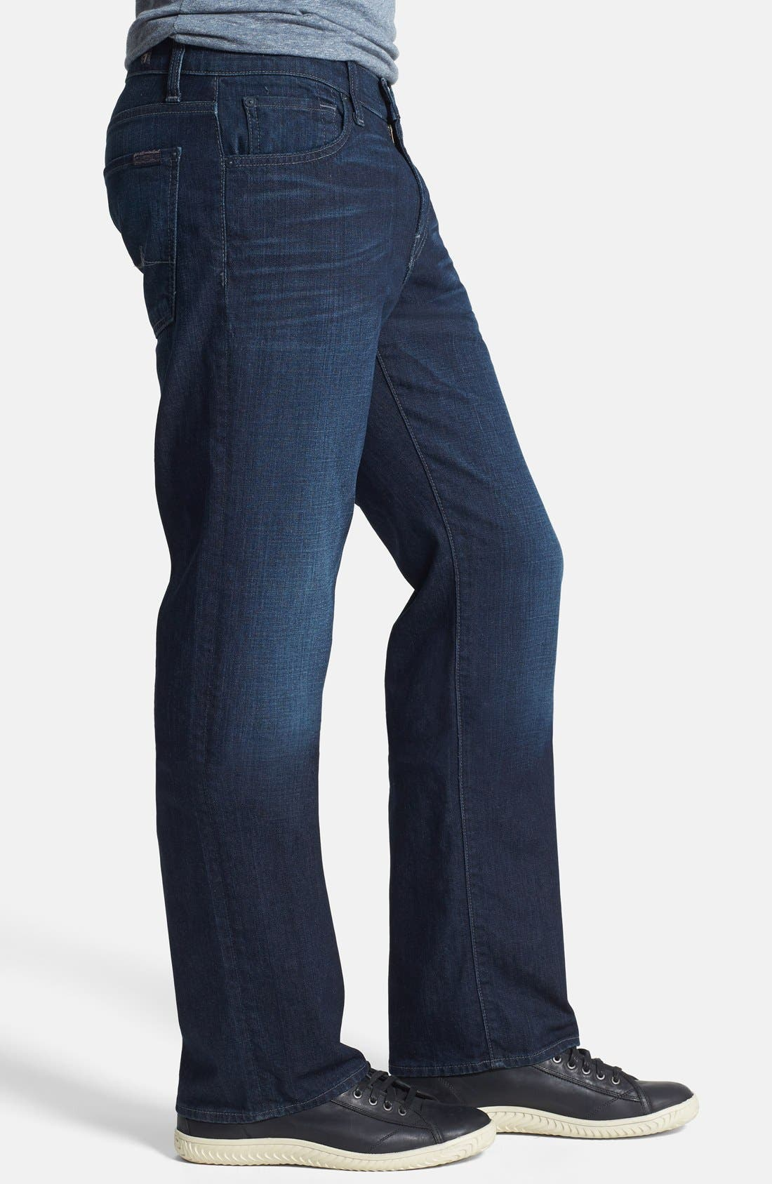 Alternate Image 3  - 7 For All Mankind® 'Austyn' Relaxed Straight Leg Jeans (Broadview Way)