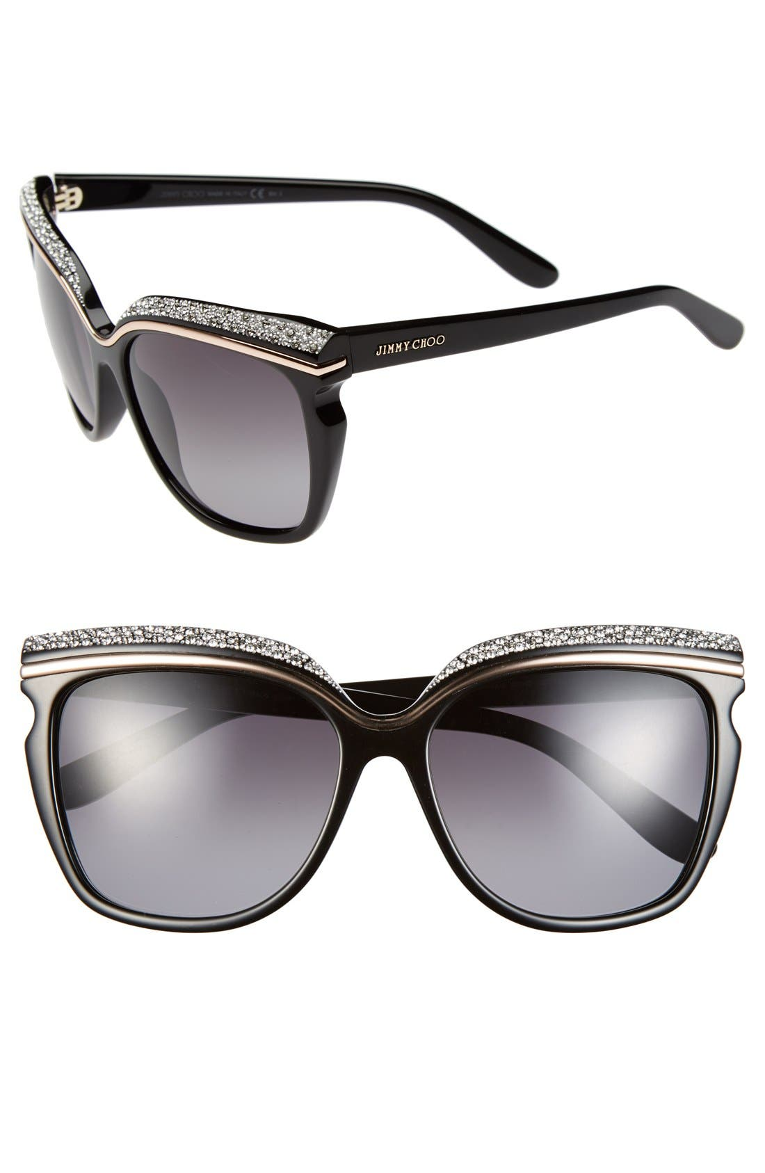 Main Image - Jimmy Choo 58mm Retro Sunglasses