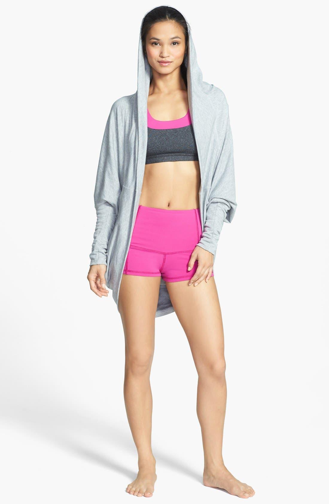 Alternate Image 3  - Caelum 'Jenna' High Waist Shorts