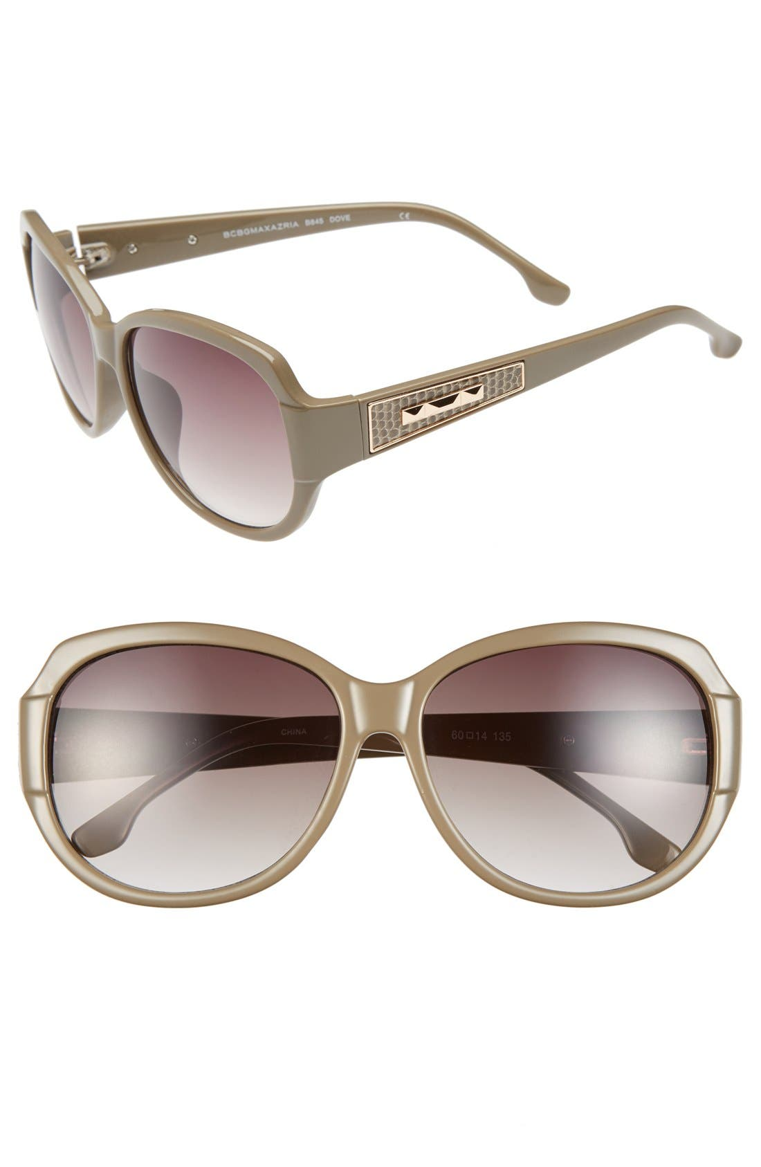 Main Image - BCBGMAXAZRIA 60mm Sunglasses