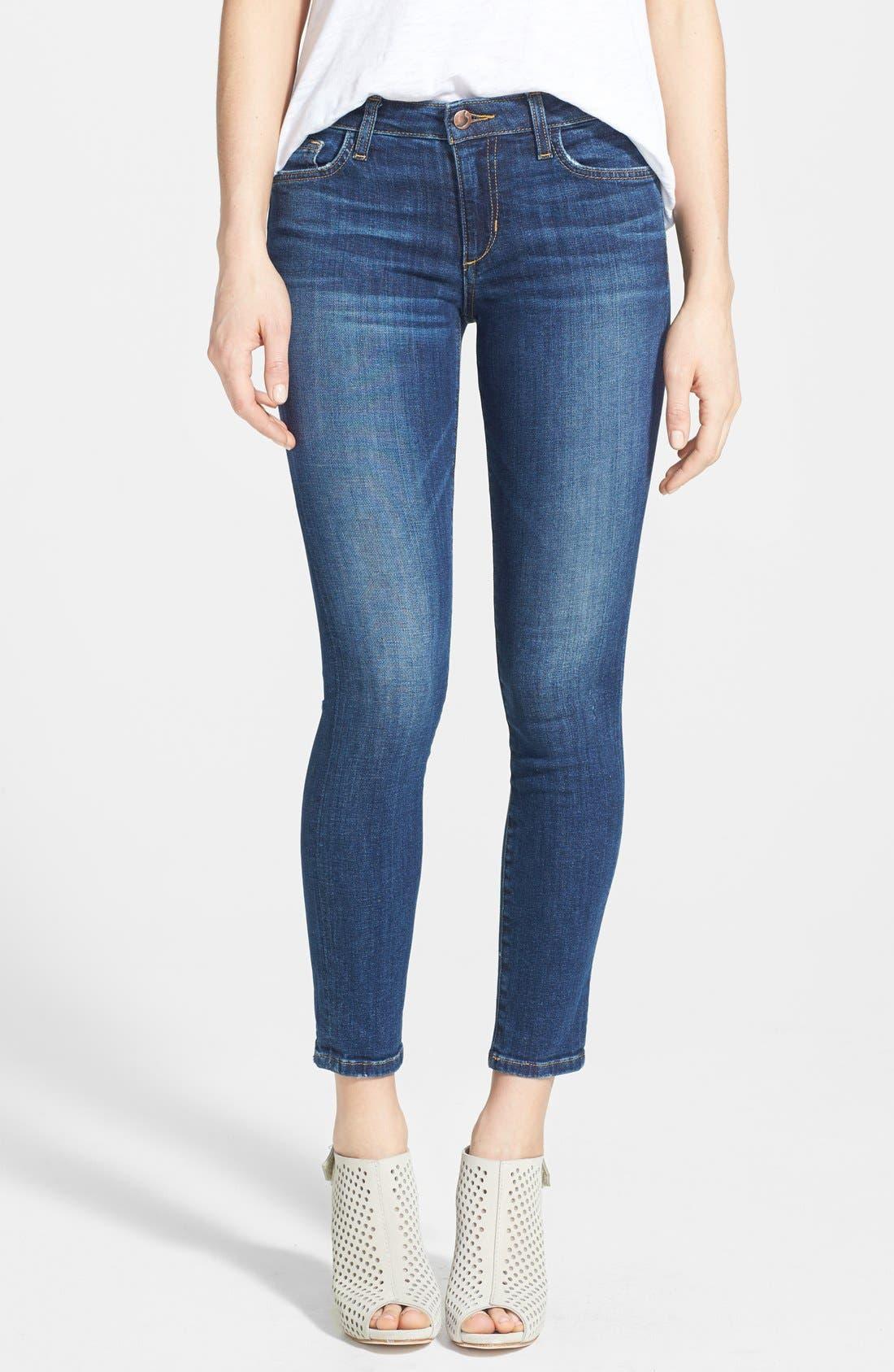 Alternate Image 1 Selected - Joe's Ankle Skinny Jeans (Aubree)