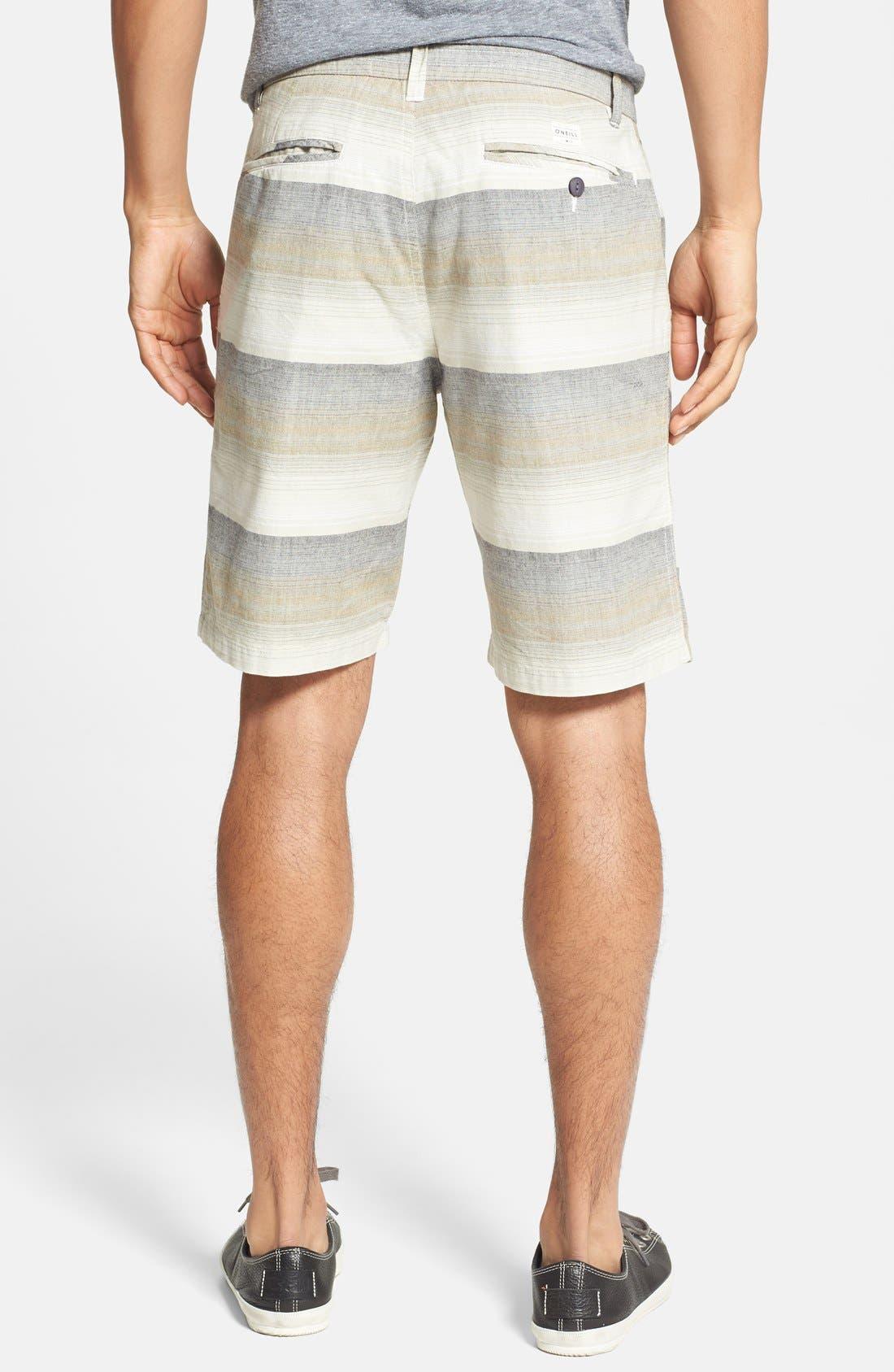 Alternate Image 2  - O'Neill 'Compass' Print Cotton Shorts